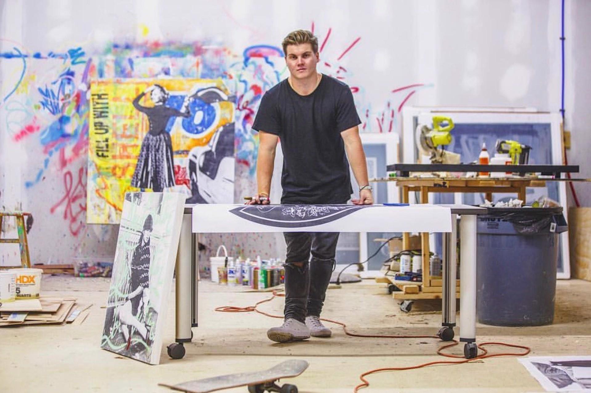 Artist At Work by Seek One