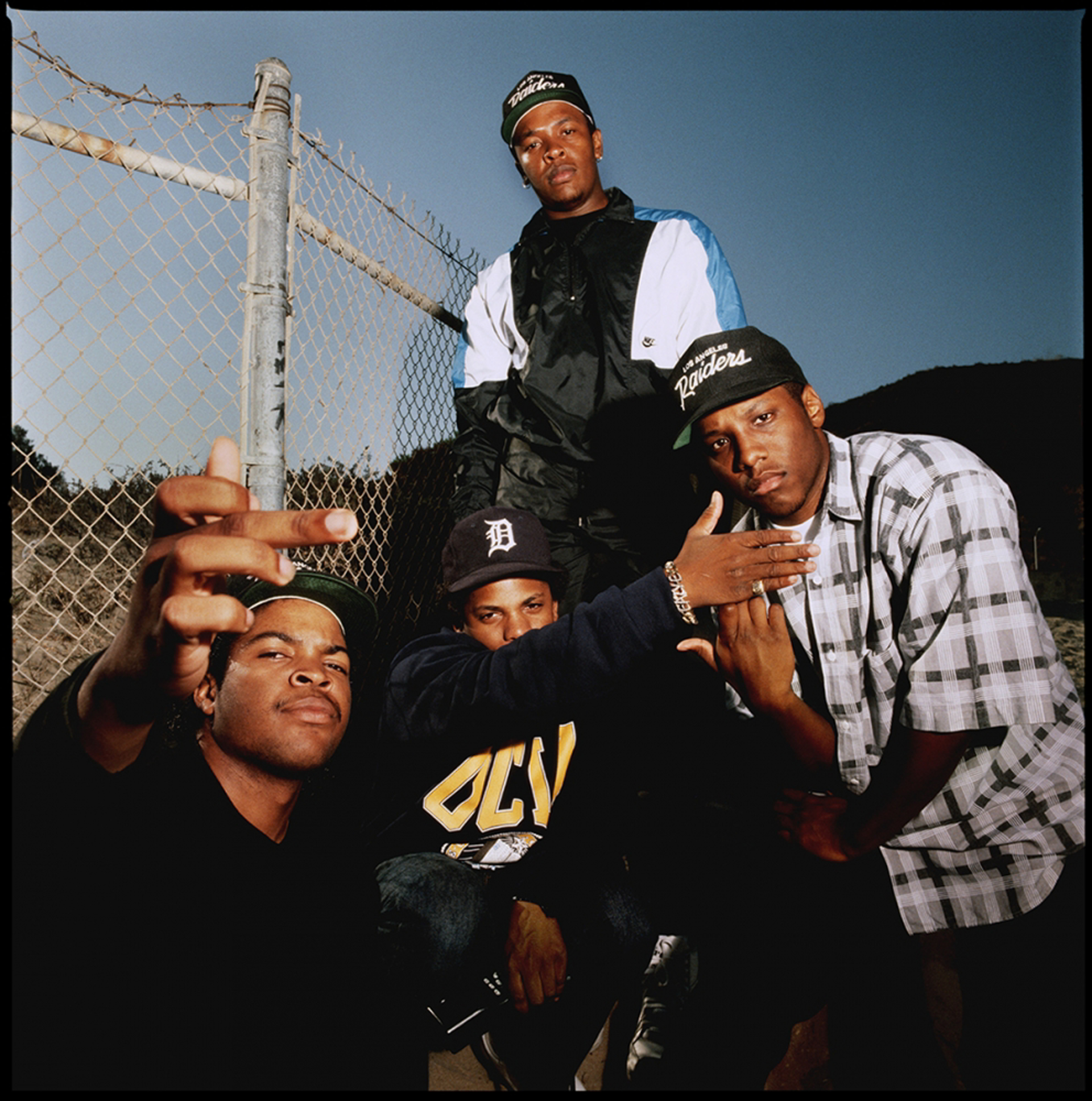 89171 N.W.A. On the Fence 1989 Color by Timothy White