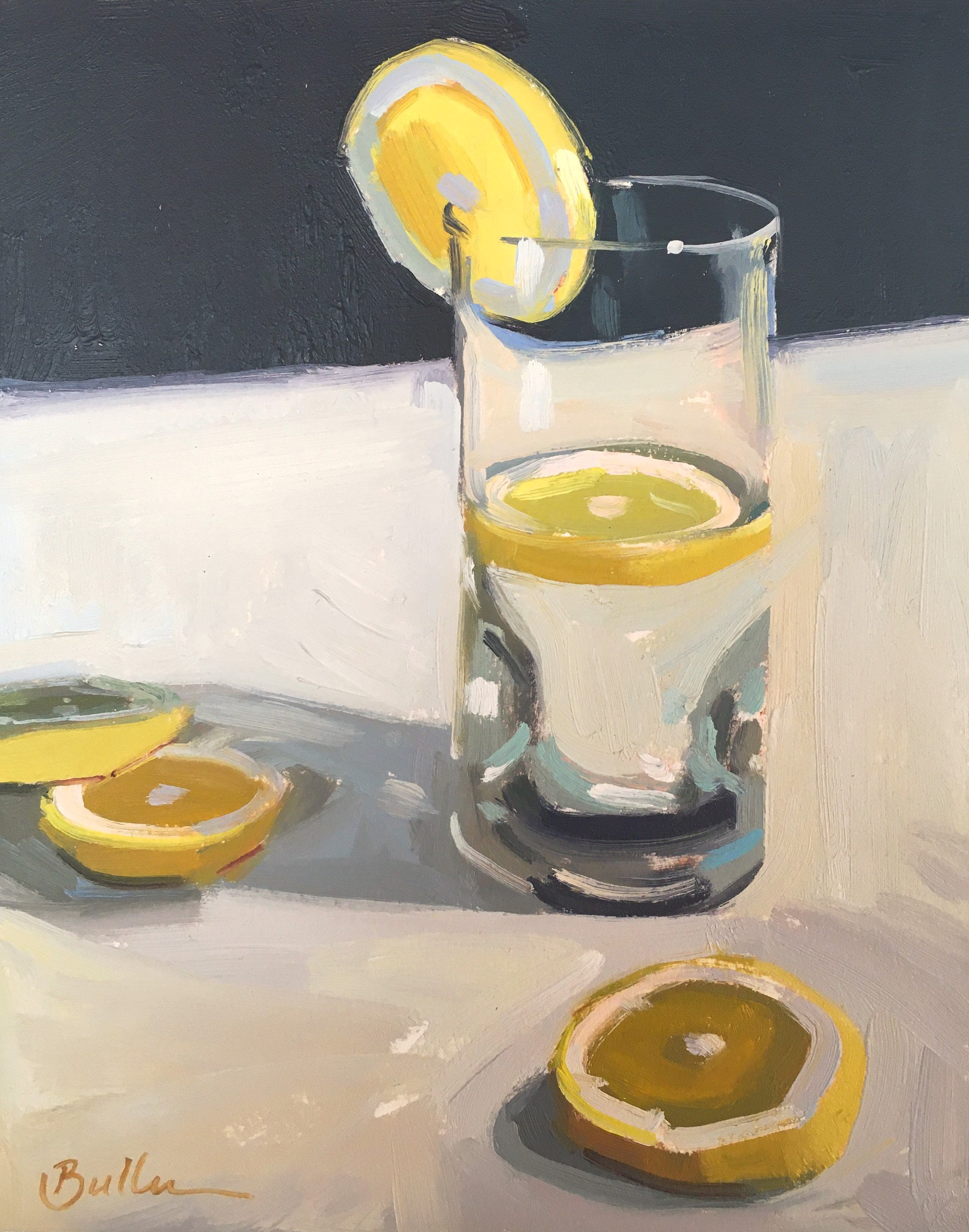 Water with Lemon by Samantha Buller