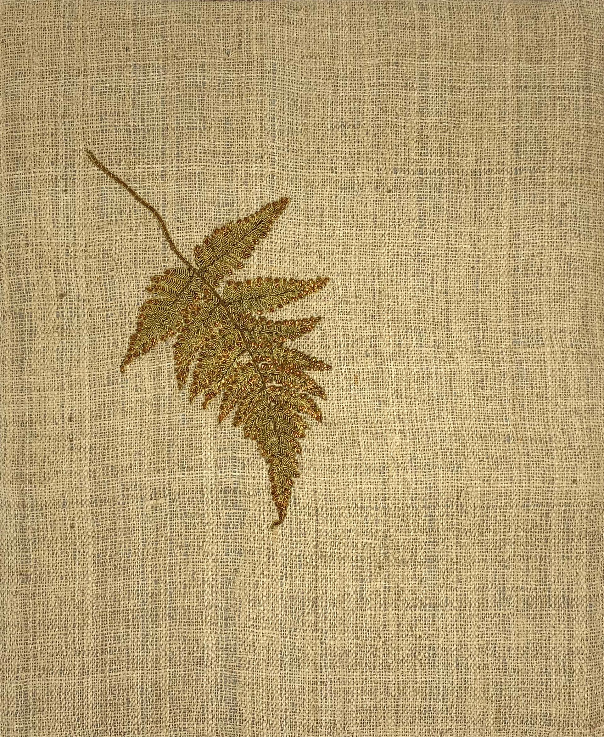 Autumn III: Fern Leaf by Tiao Nithakhong Somsanith