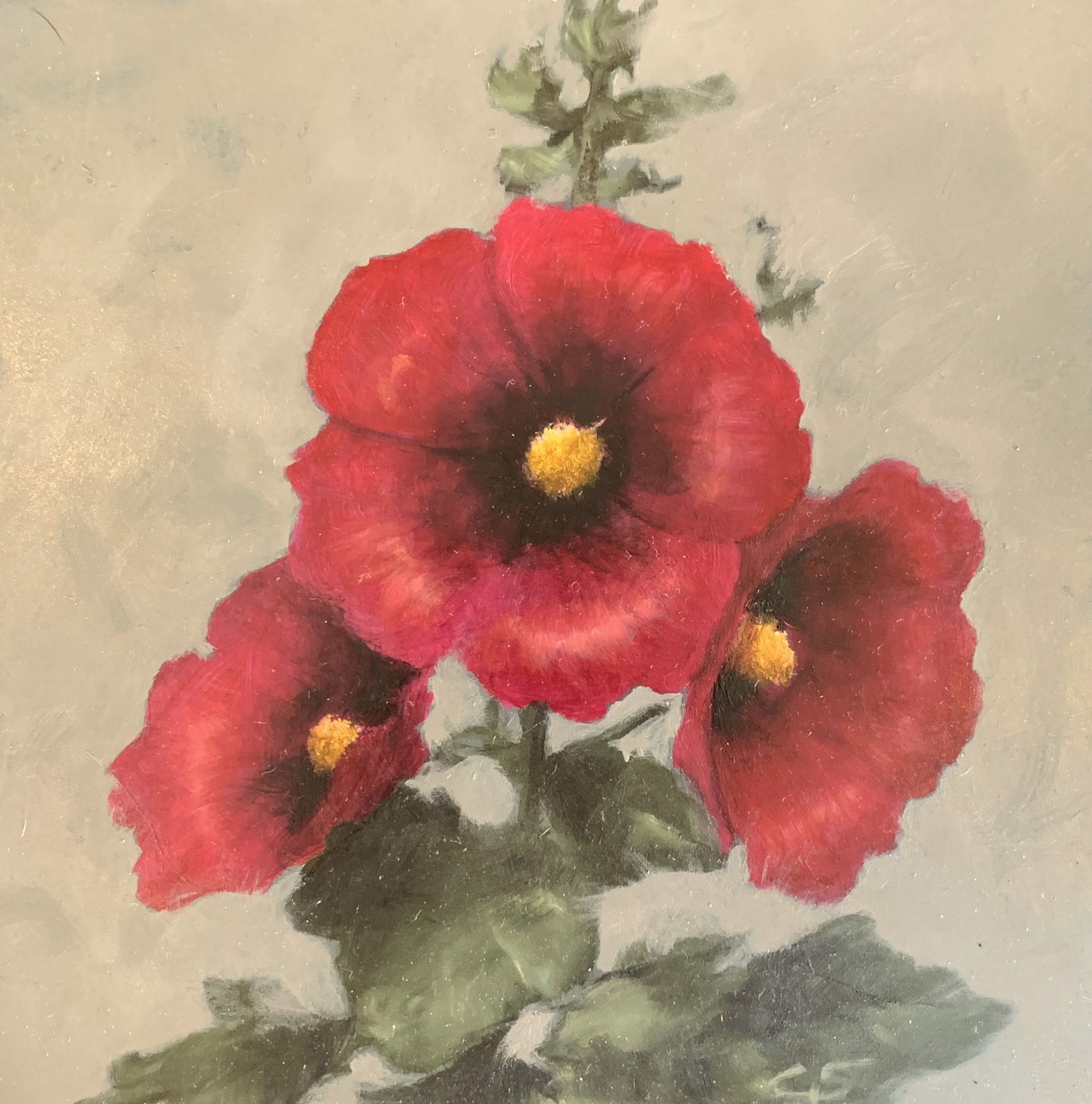 Hollyhock by Gregory Smith