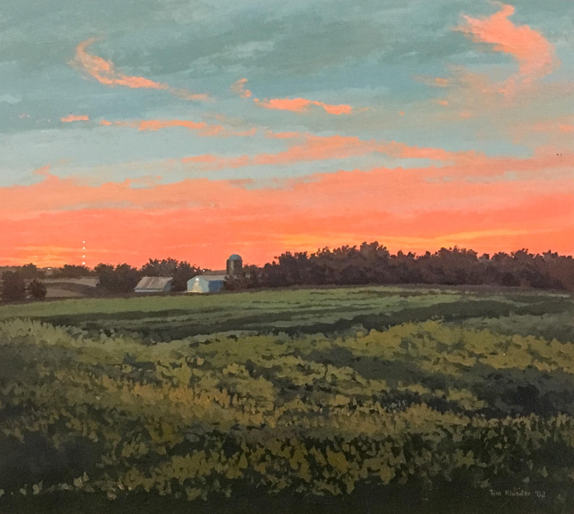 Nebraska Dusk No. 3 by Tim Klunder