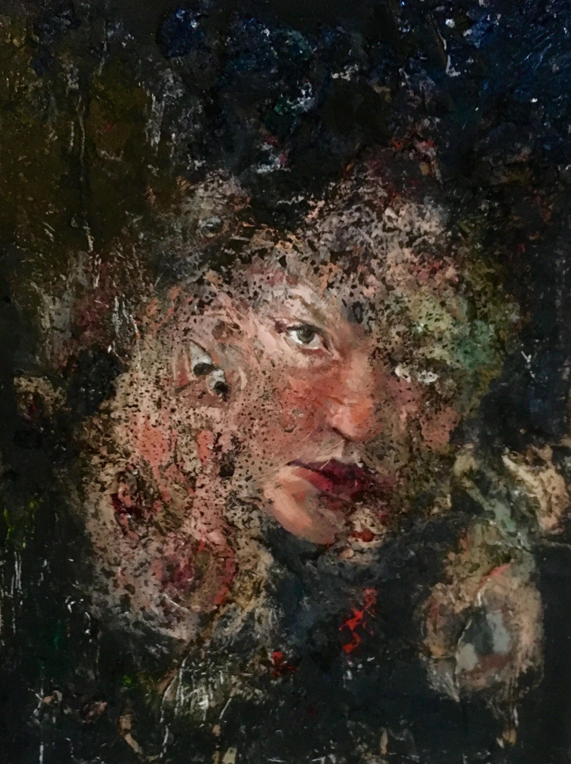 Self Portrait by Hannah Vandermolen