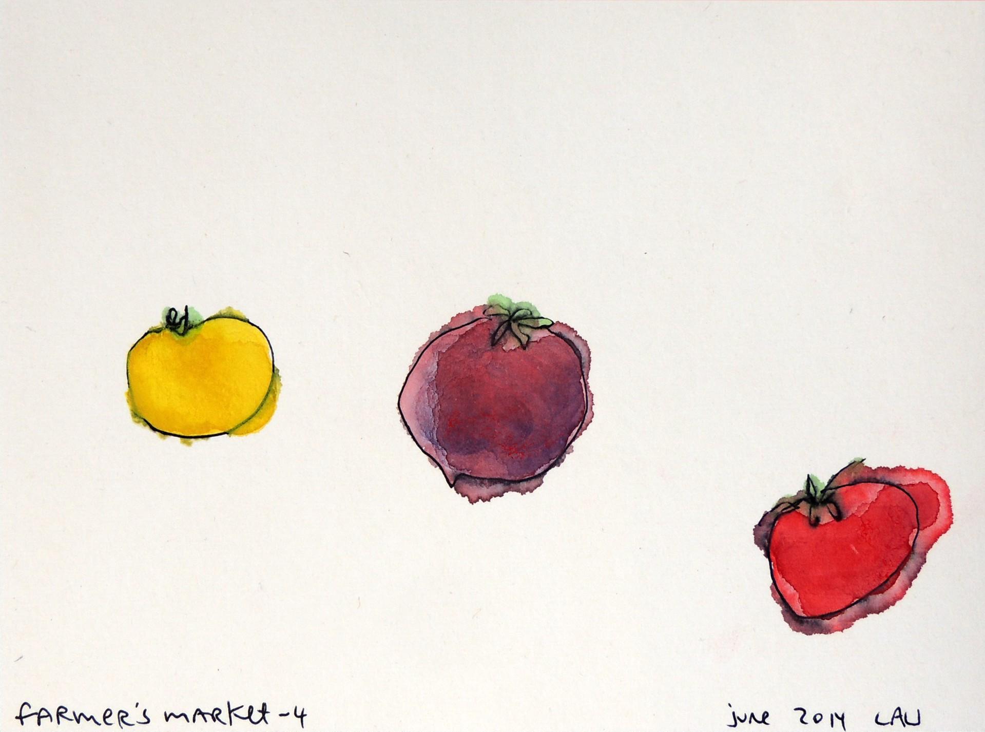 farmer's market 4 by Alan Lau | Small Works