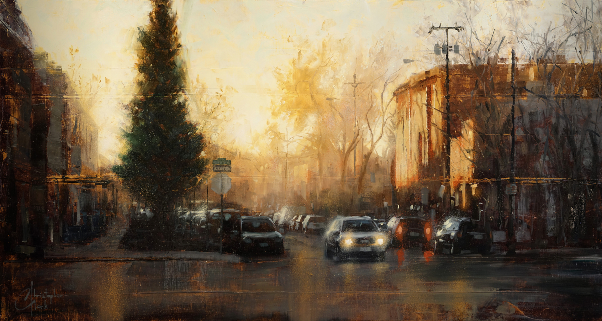 Denver - 9th and Santa Fe by Christopher Clark