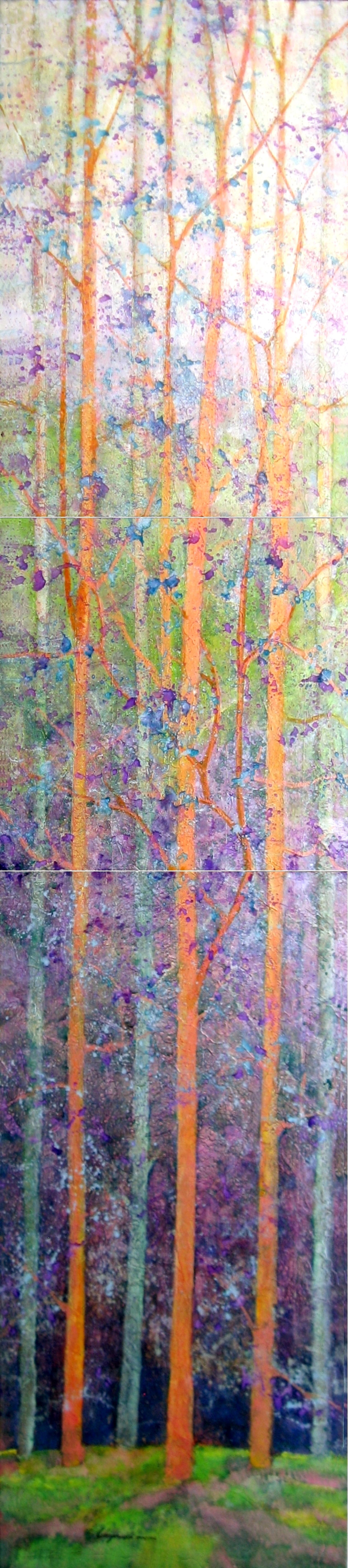 Spring Show (triptych) by Bob Chrzanowski