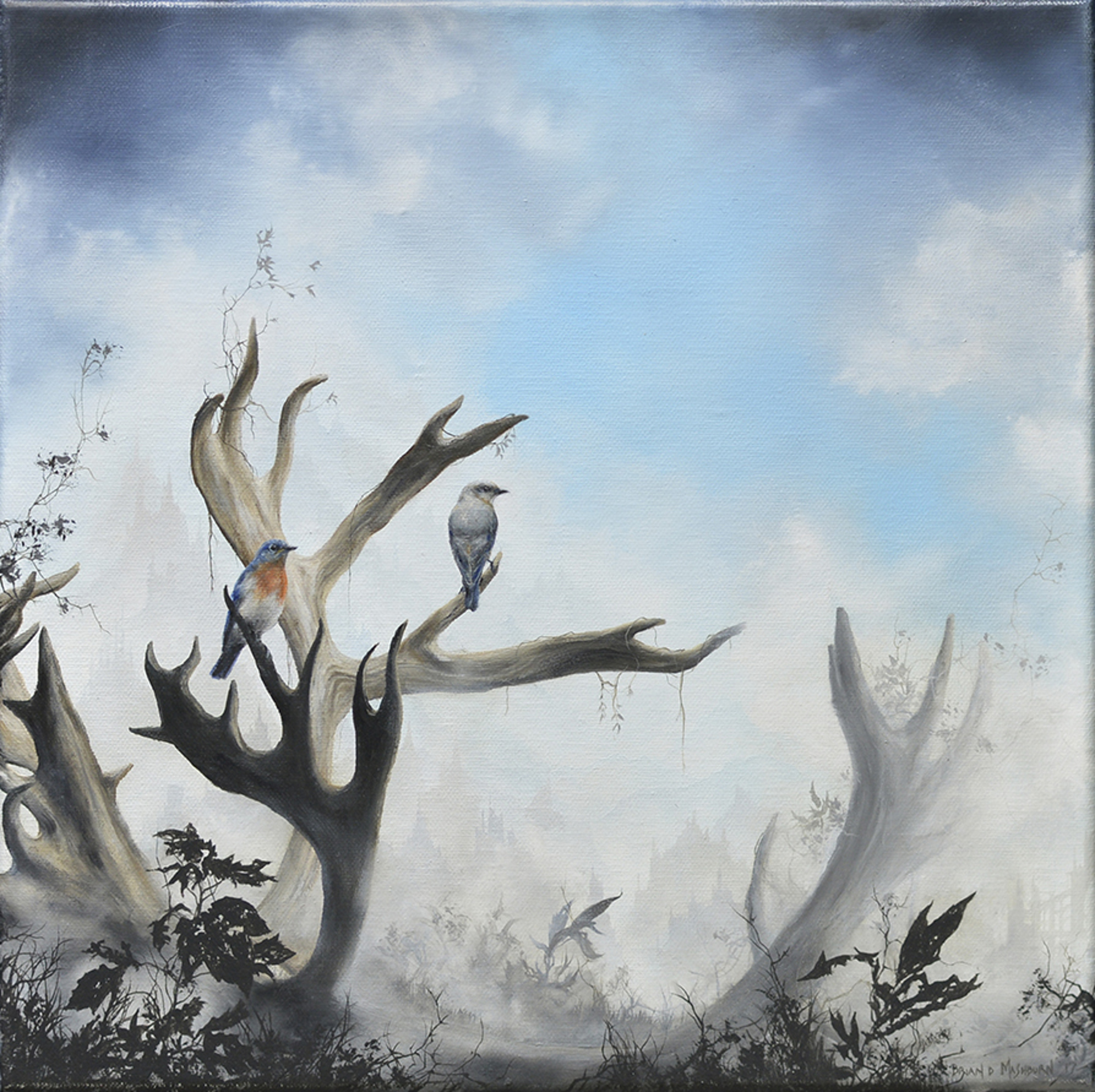 Bluebirds by Brian Mashburn