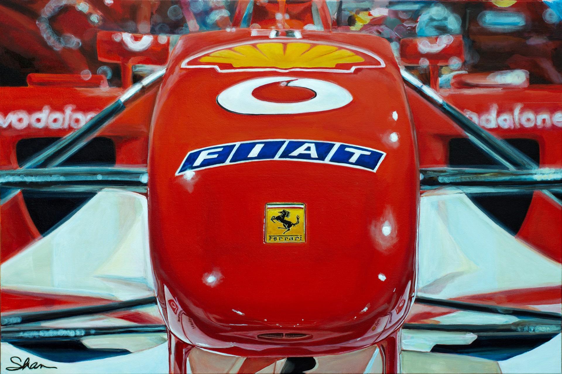 Ferrari F2002 by Shan Fannin