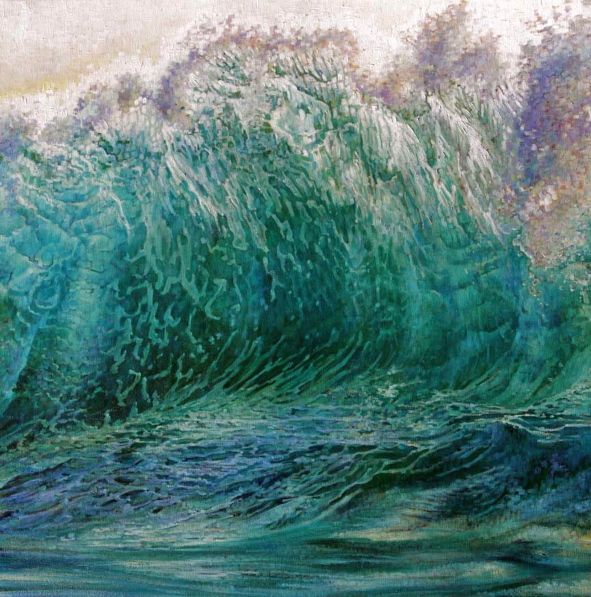 Wall Of Water by Caroline Zimmermann