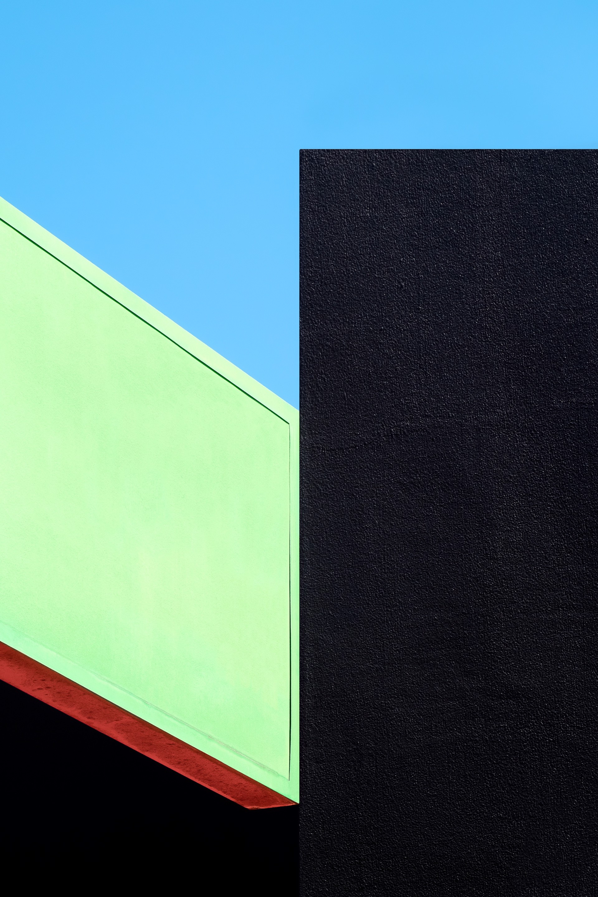 Green, Black and Blue 2 by Jon Setter