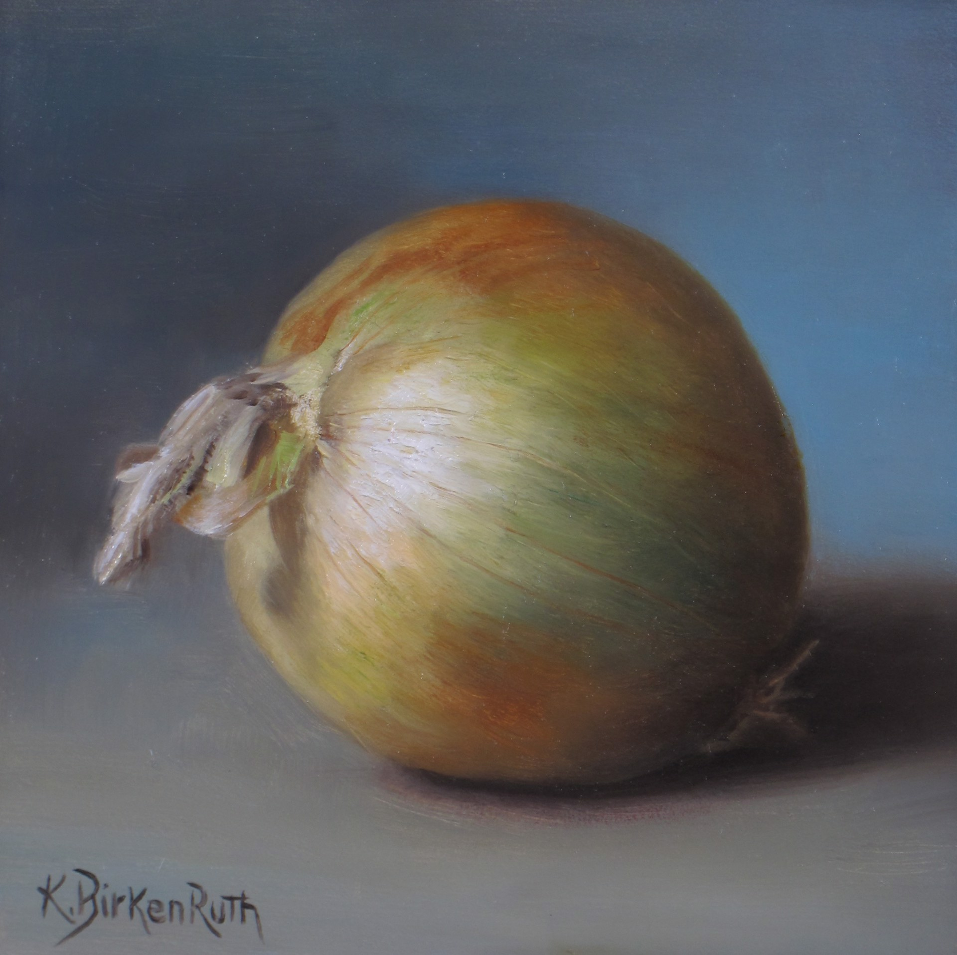 Yellow Onion by Kelly Birkenruth