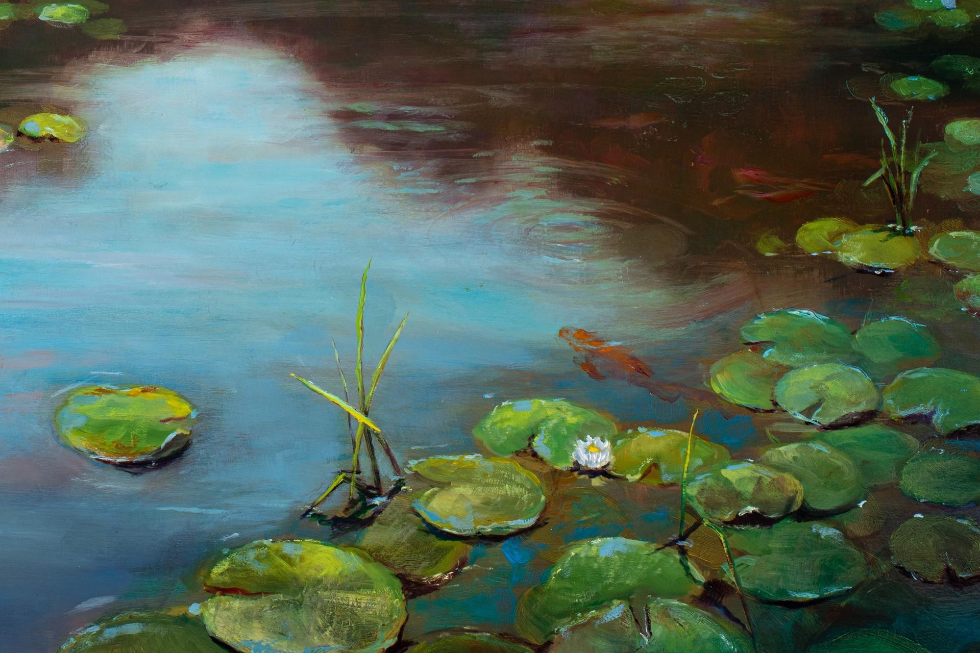 Shades of Green by Isaiah Ratterman