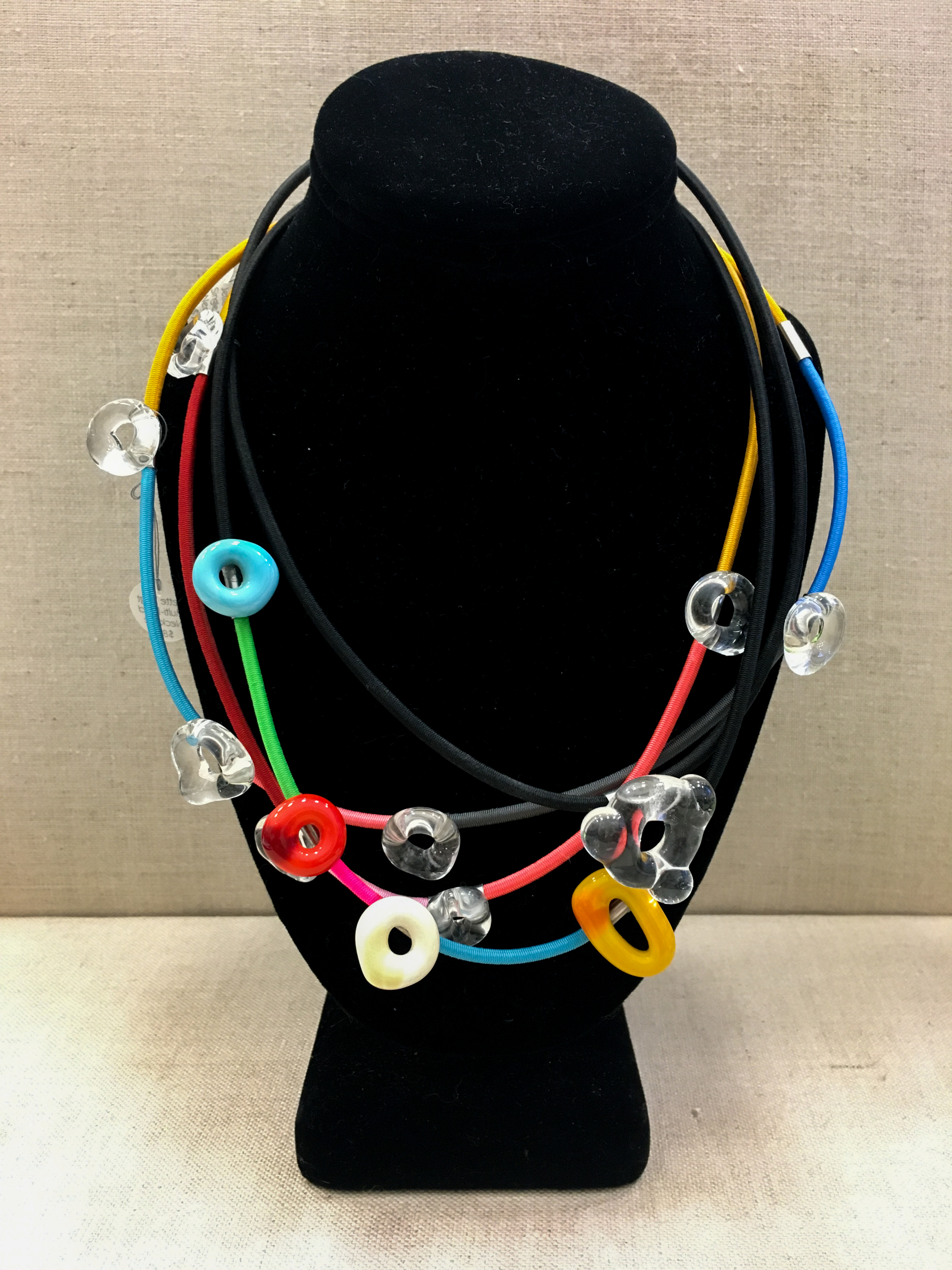 Multi-Bead Necklaces by Jette Vogt