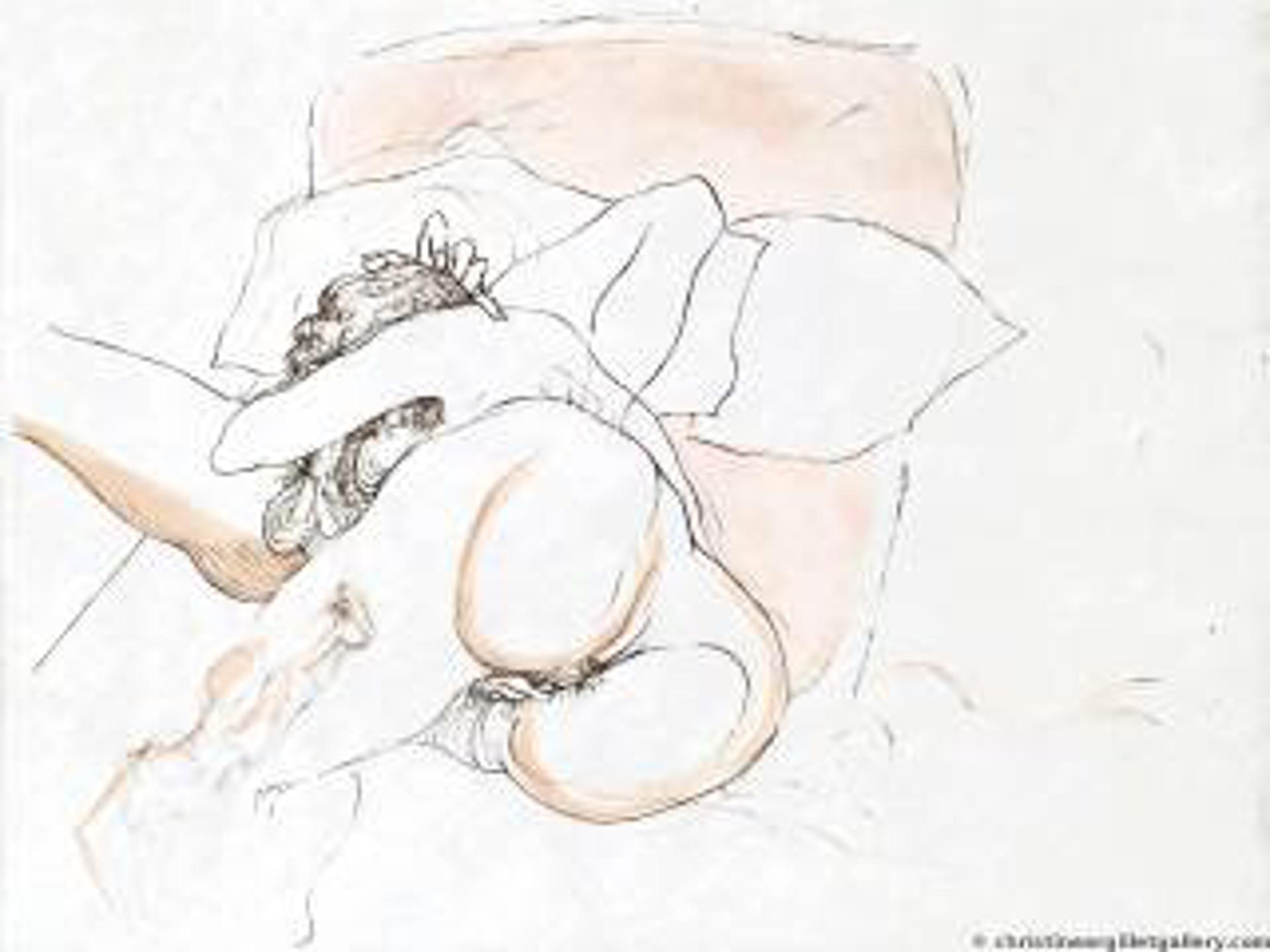 Warrior's Rest by Salvador Dali