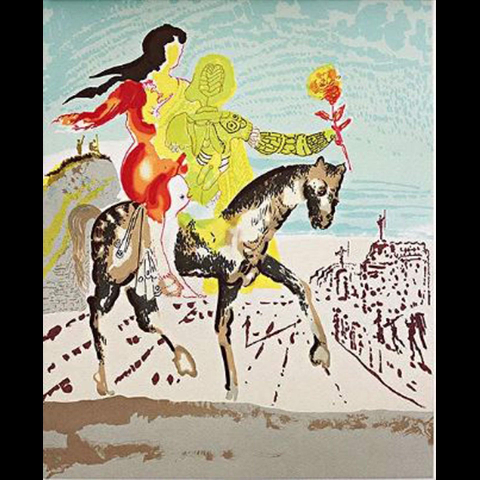 Messiah  (New Jerusalem Suite) by Salvador Dali