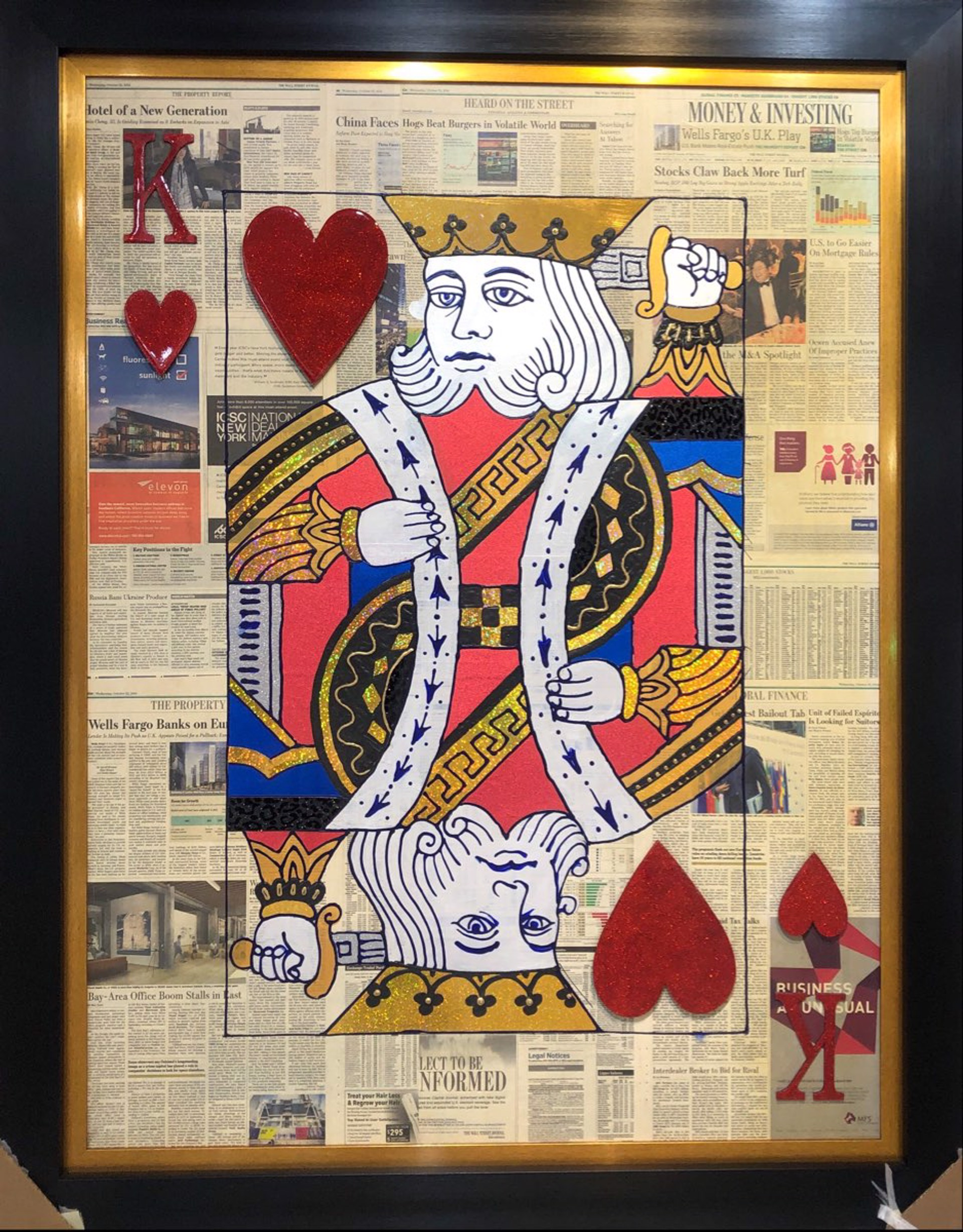 King Of Hearts On WSJ by Elena Bulatova