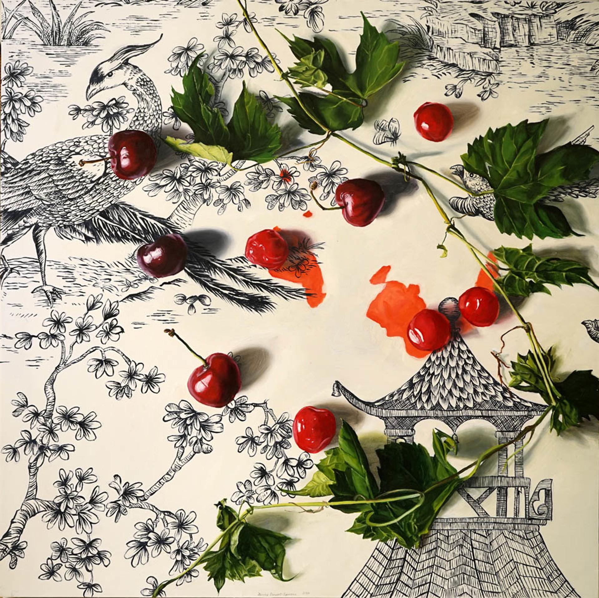 Cherry Stain by Denise Stewart-Sanabria