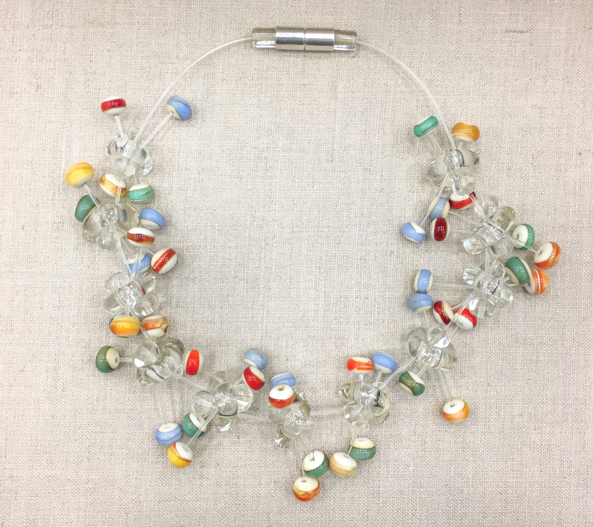 Clasp Necklace No. 6 by Jette Vogt