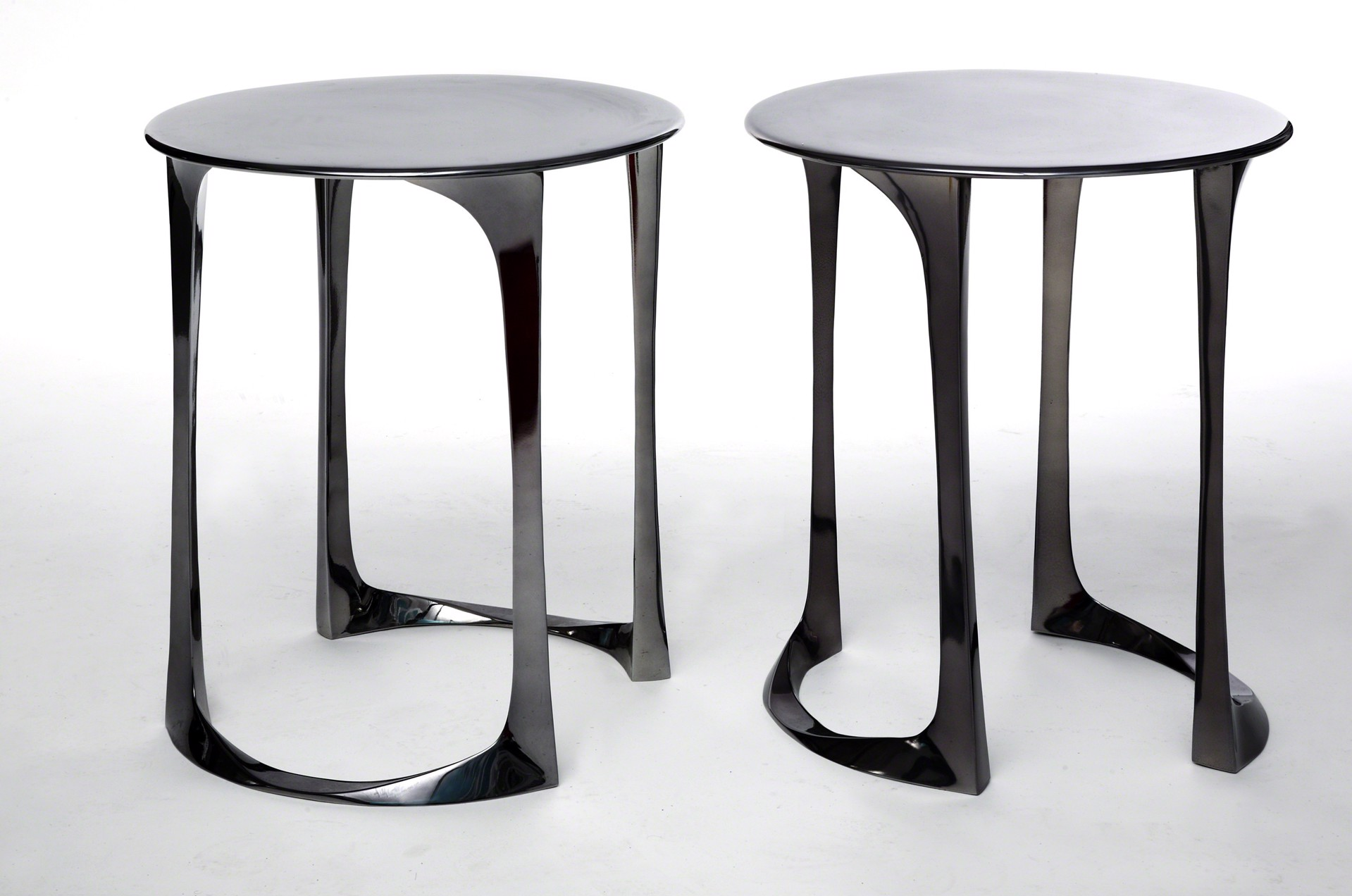 Bronze Side tables by Anasthasia Millot
