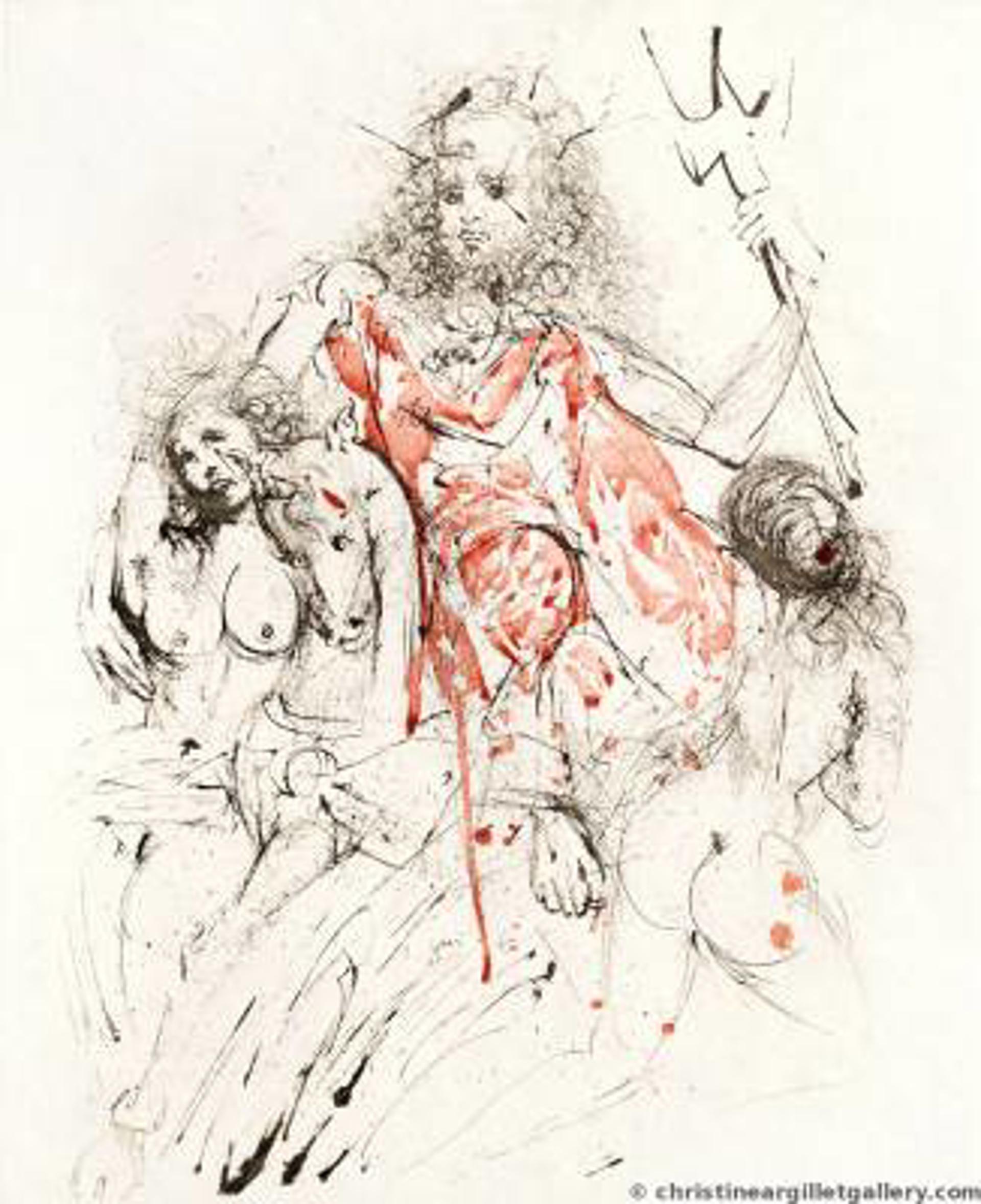 """Mythology """"Neptune"""" by Salvador Dali"""