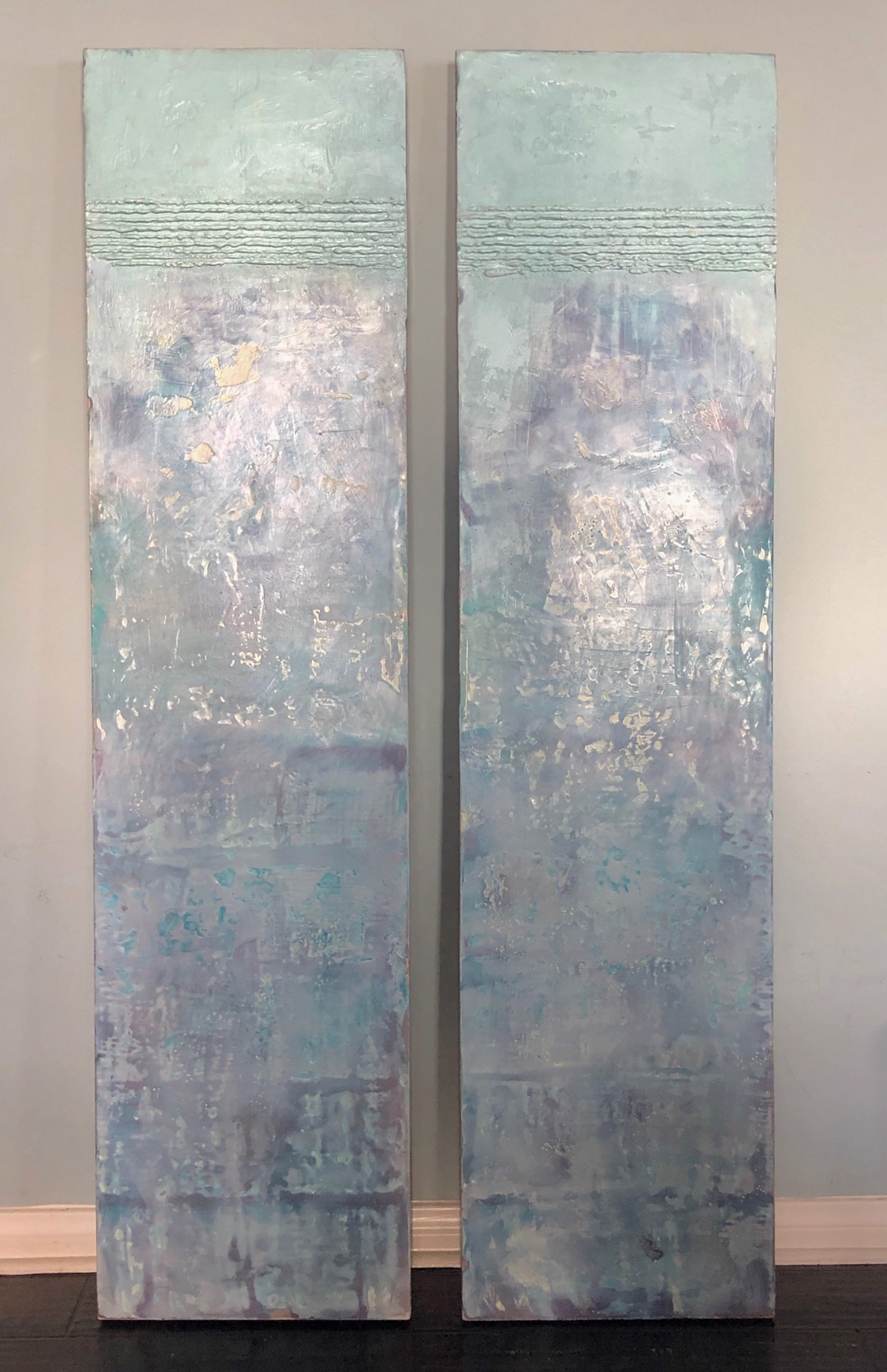 Fresco I & II by Linda Frueh