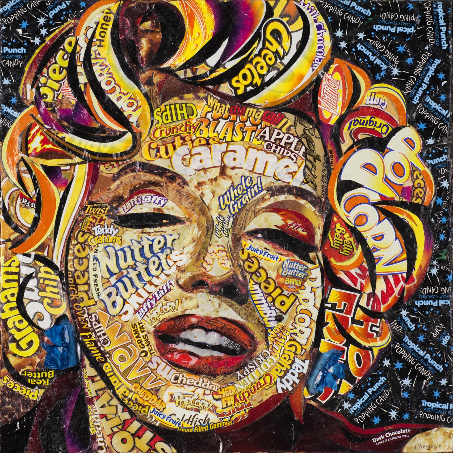 Marilyn -ed 2/25 by Laura Benjamin