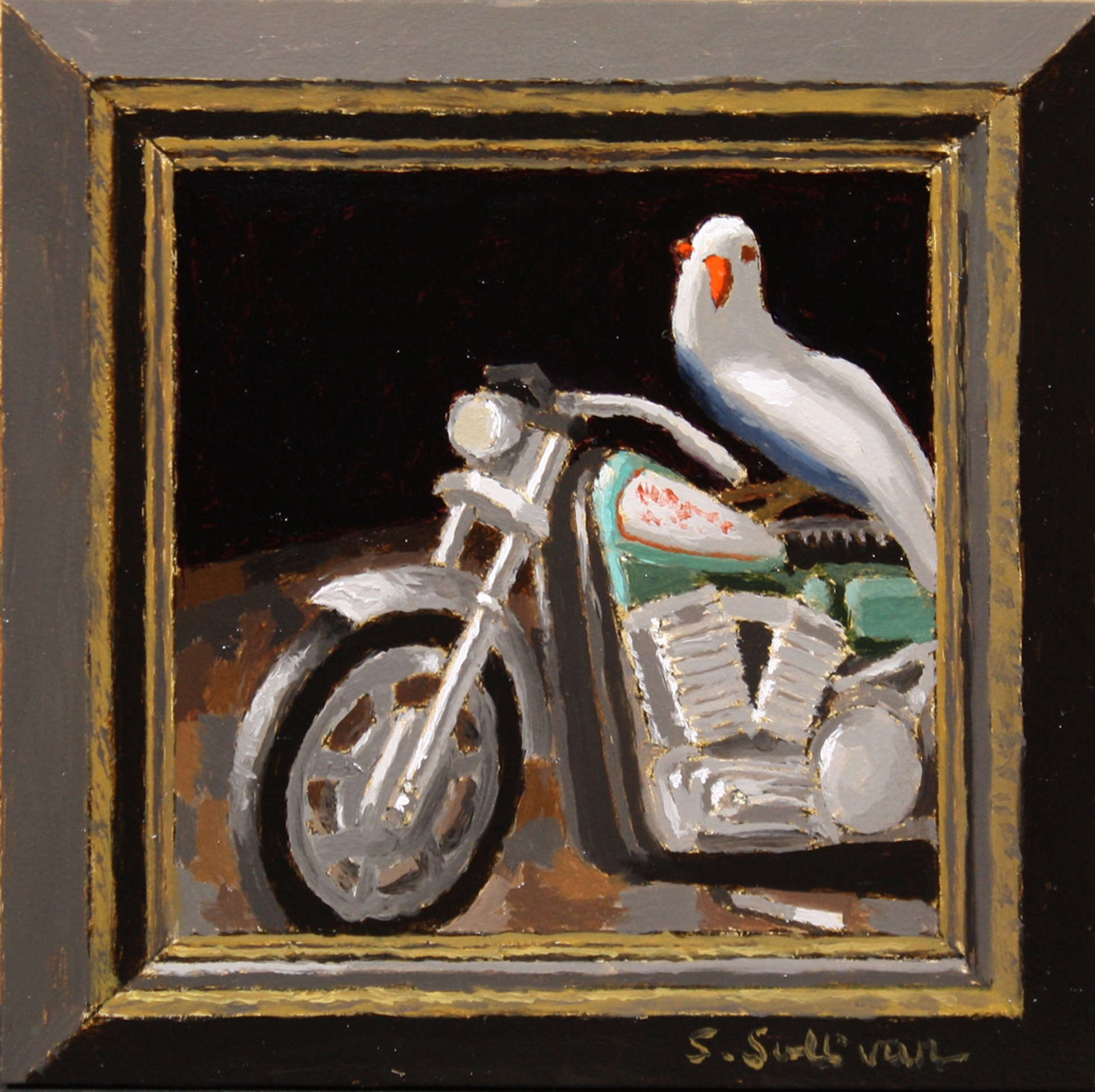 Side Saddle by Shawn Sullivan