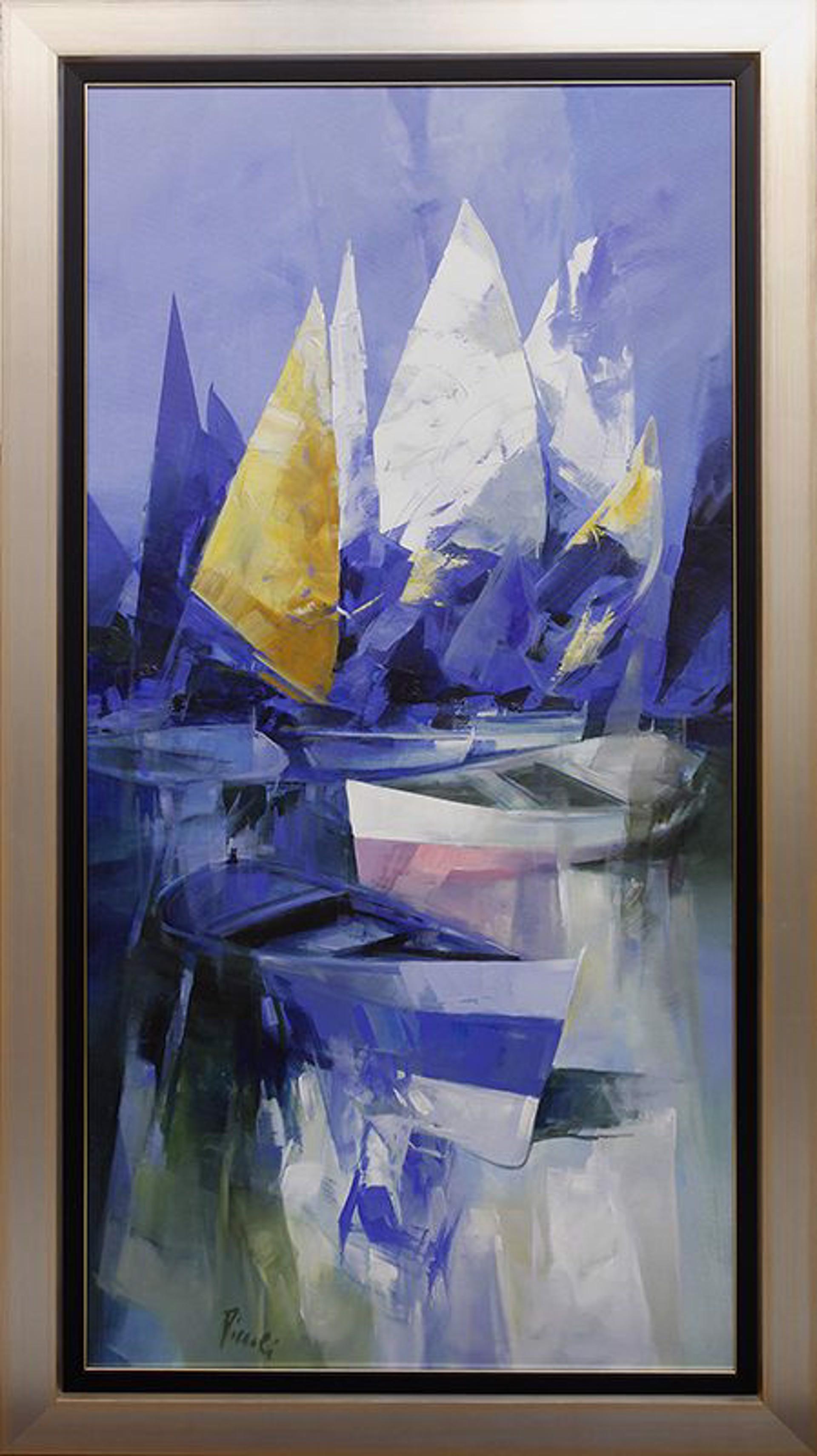 Vele Composizione II by Pietro Piccoli