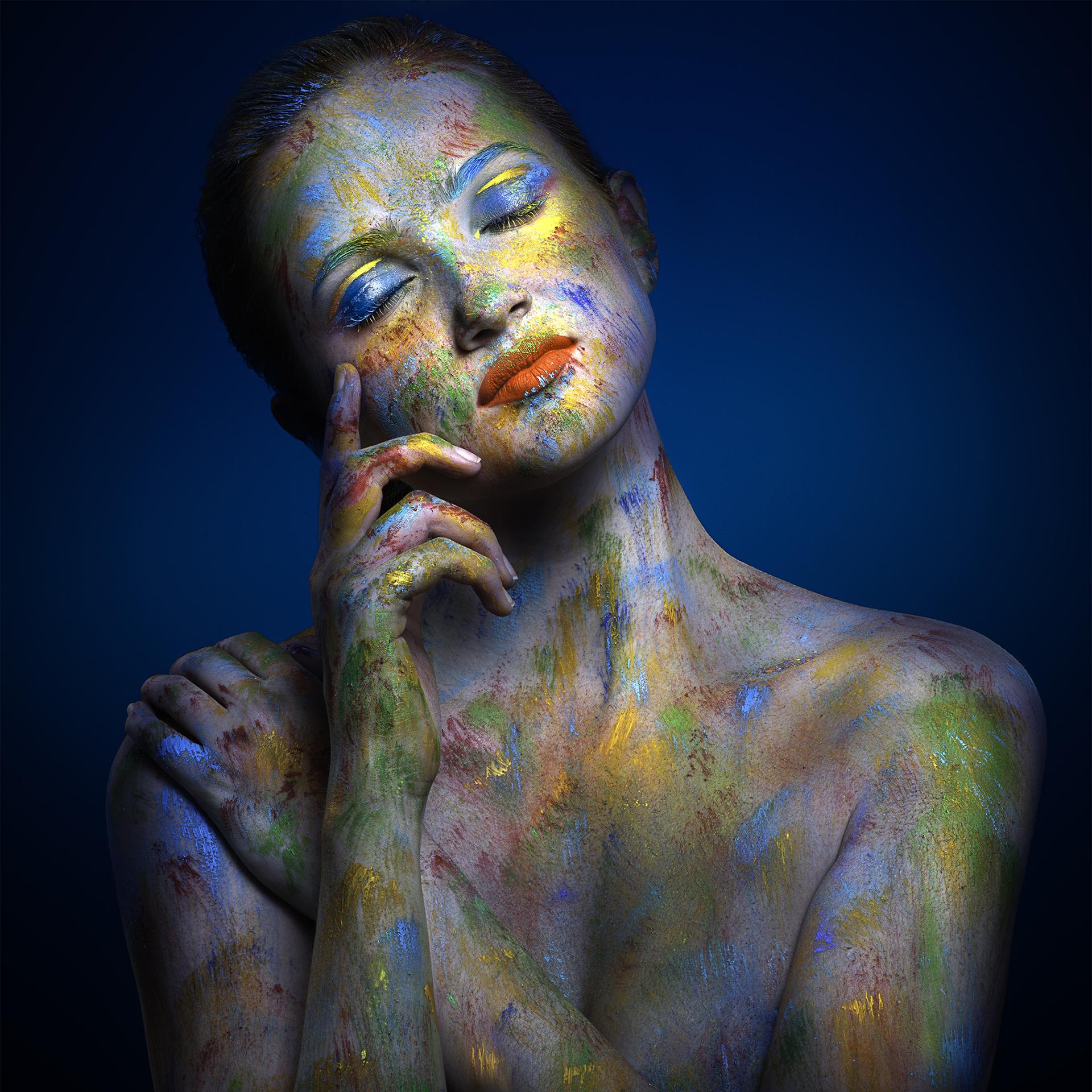 Paintscapes Study II by Parish Kohanim