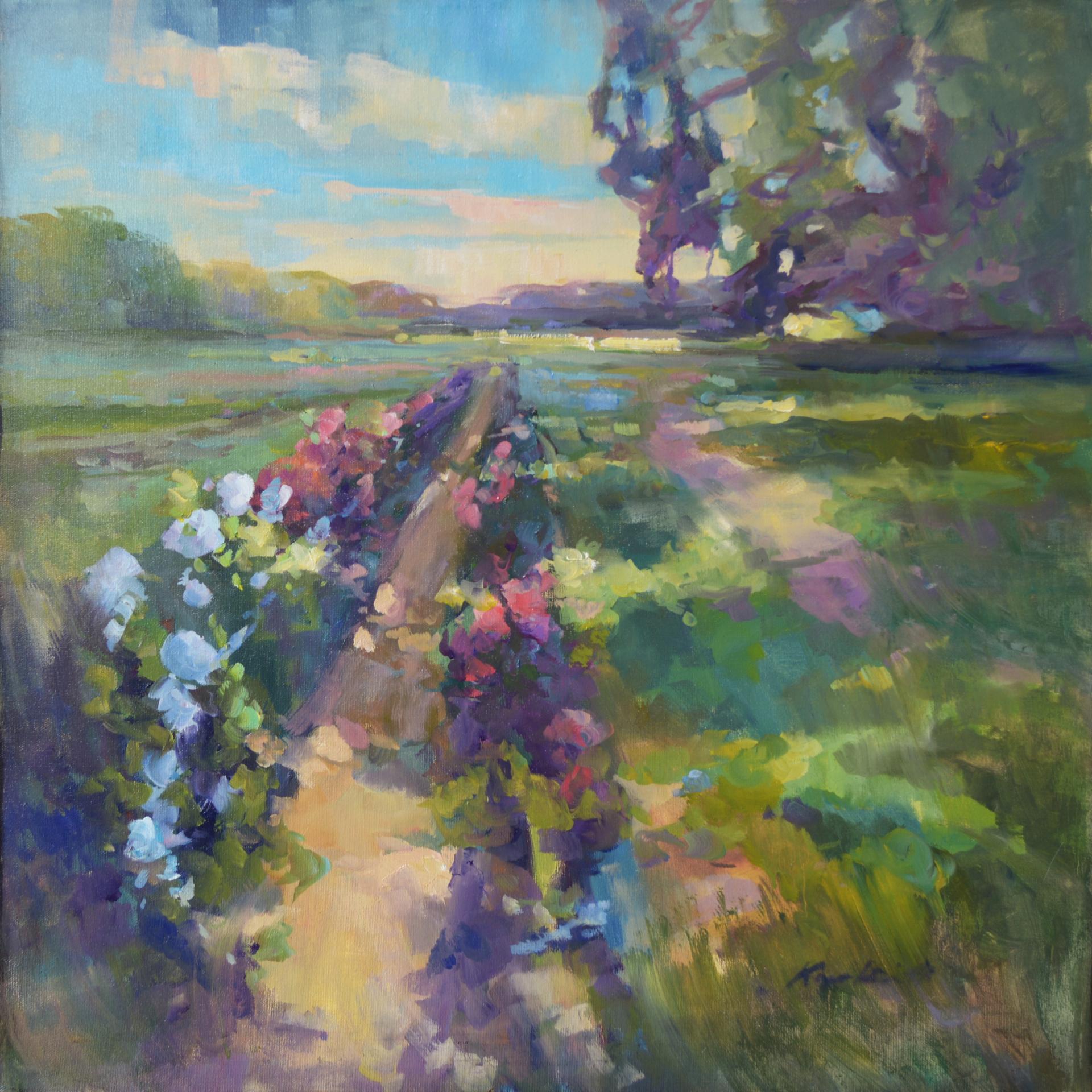 Roadside Fields, Edisto by Karen Hewitt Hagan