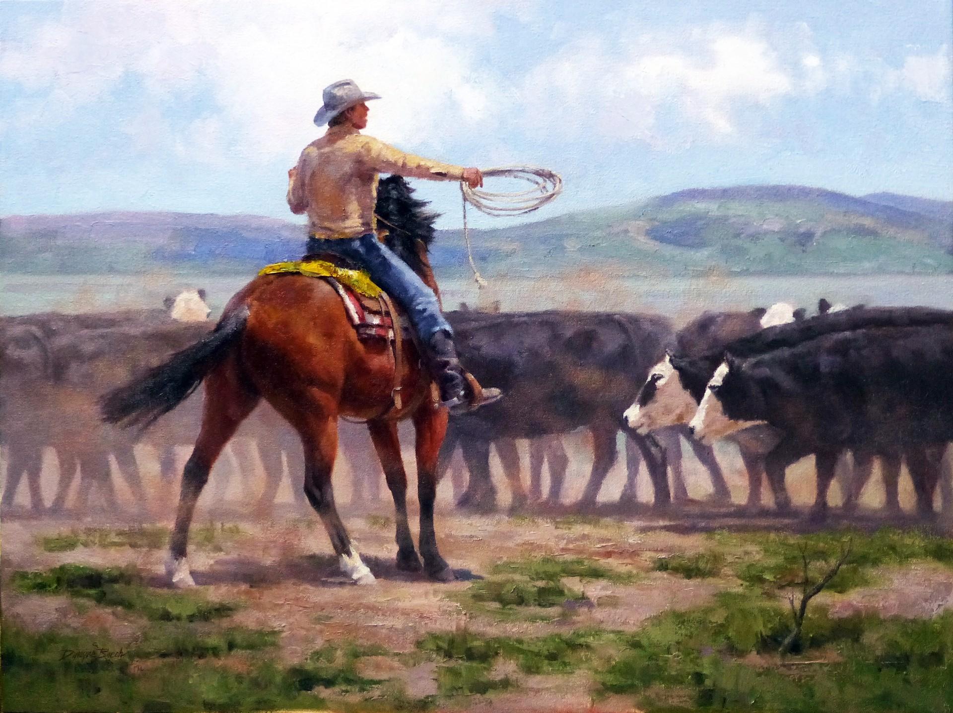 Chaos Control (Cowboy) by Dwayne Brech