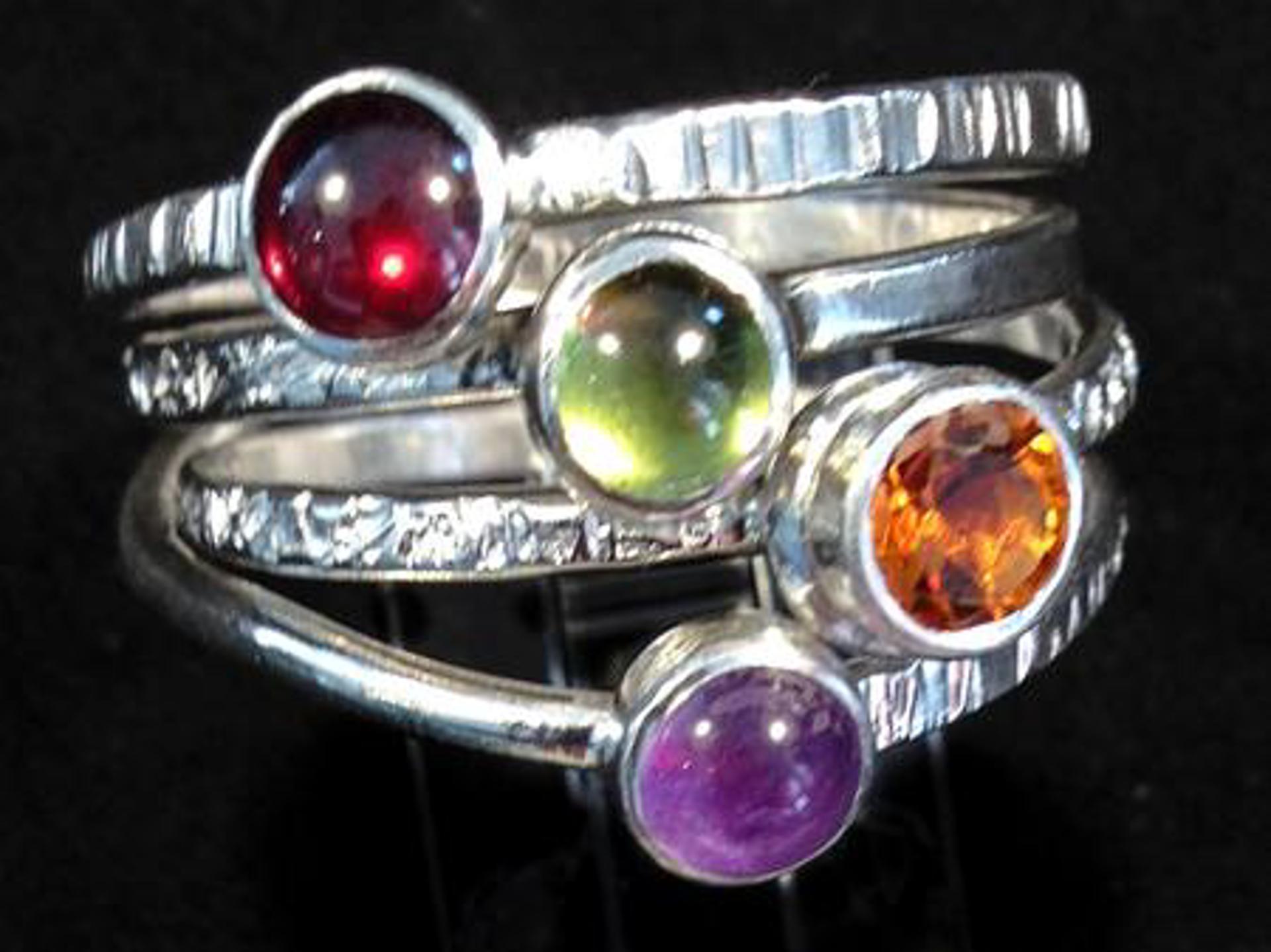 1184-13  Spring Ring by Donna Burdic