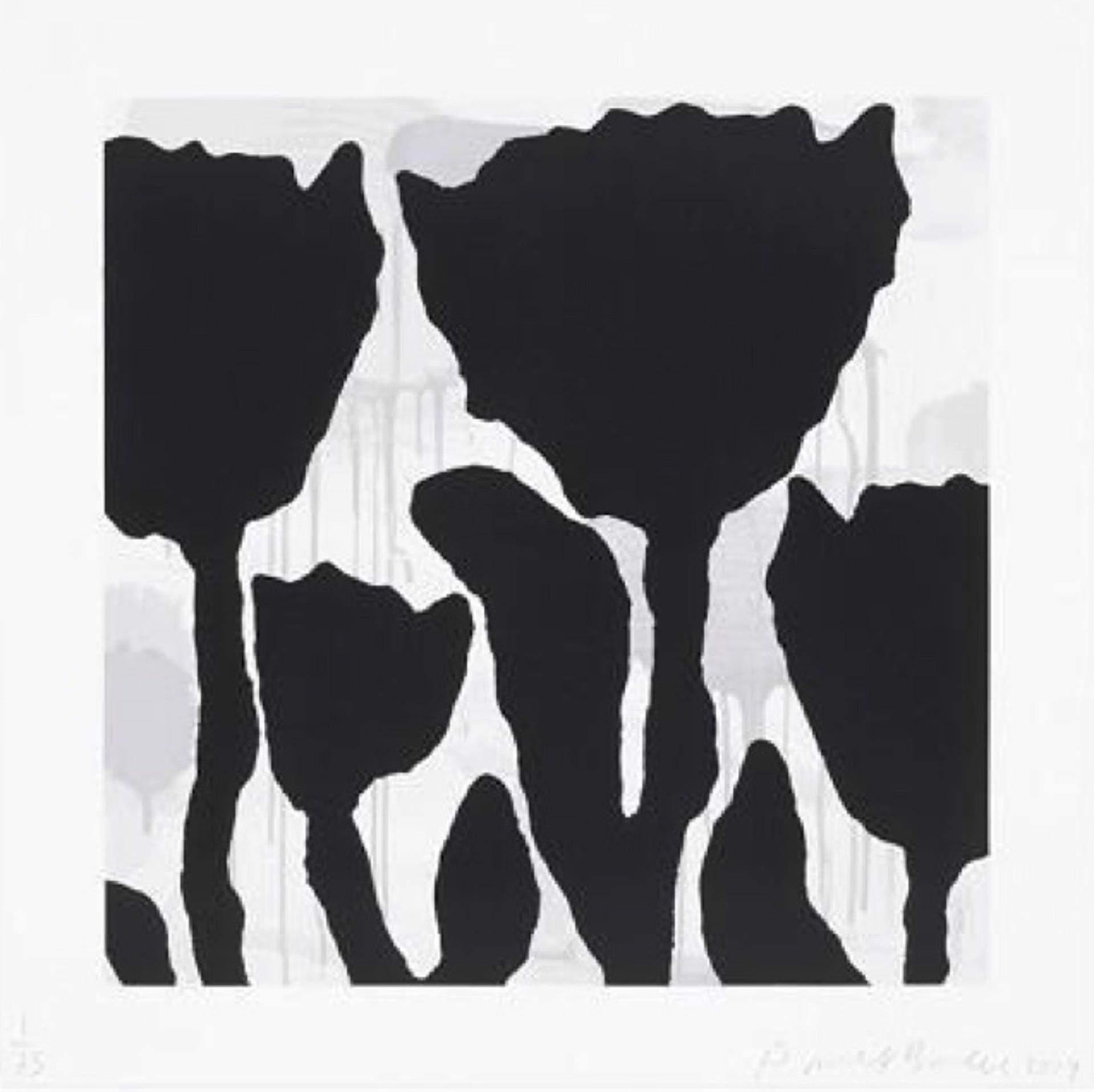Flower Studies, III by Donald Baechler