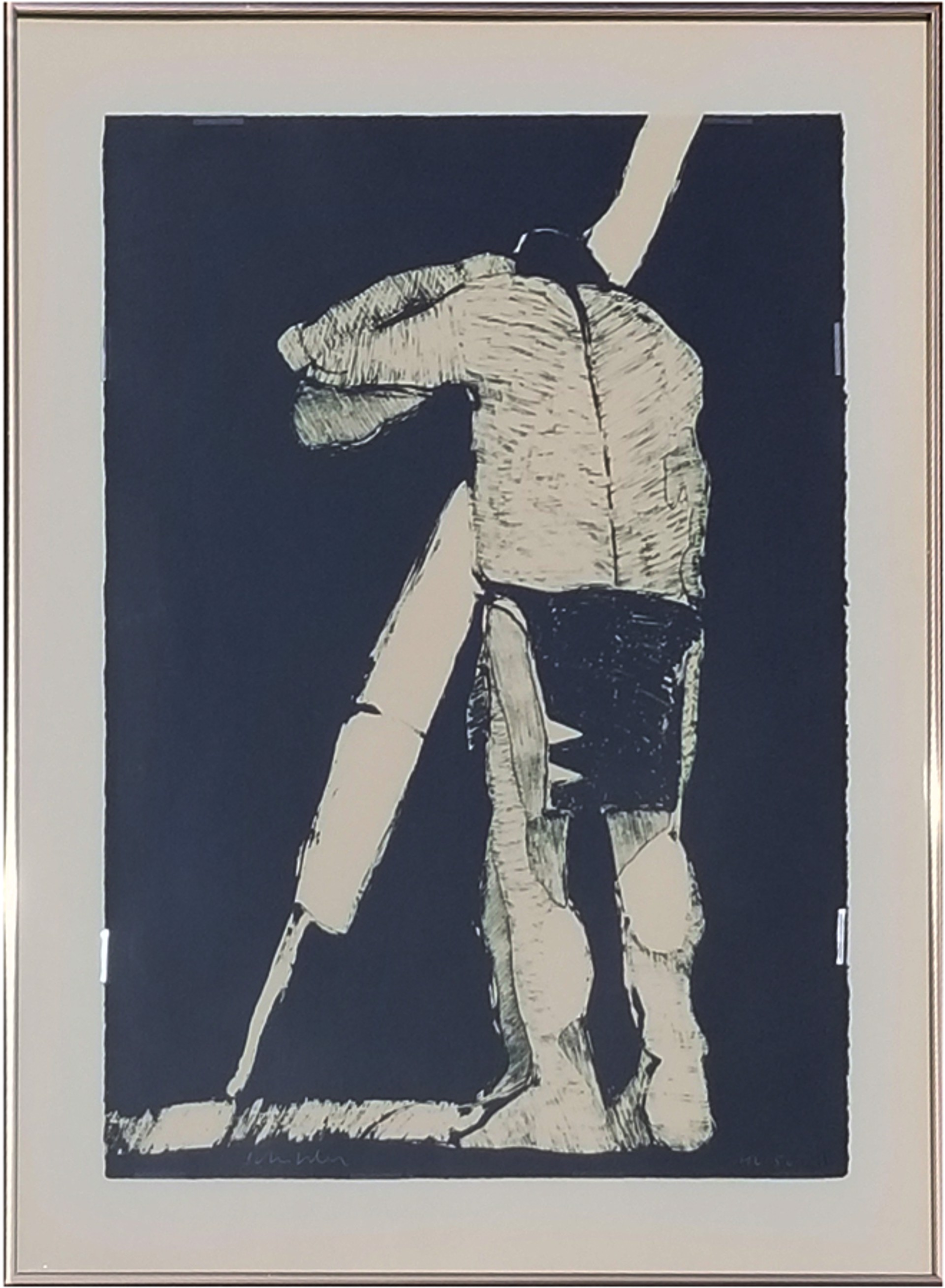 The Odyssey State I by Fritz Scholder