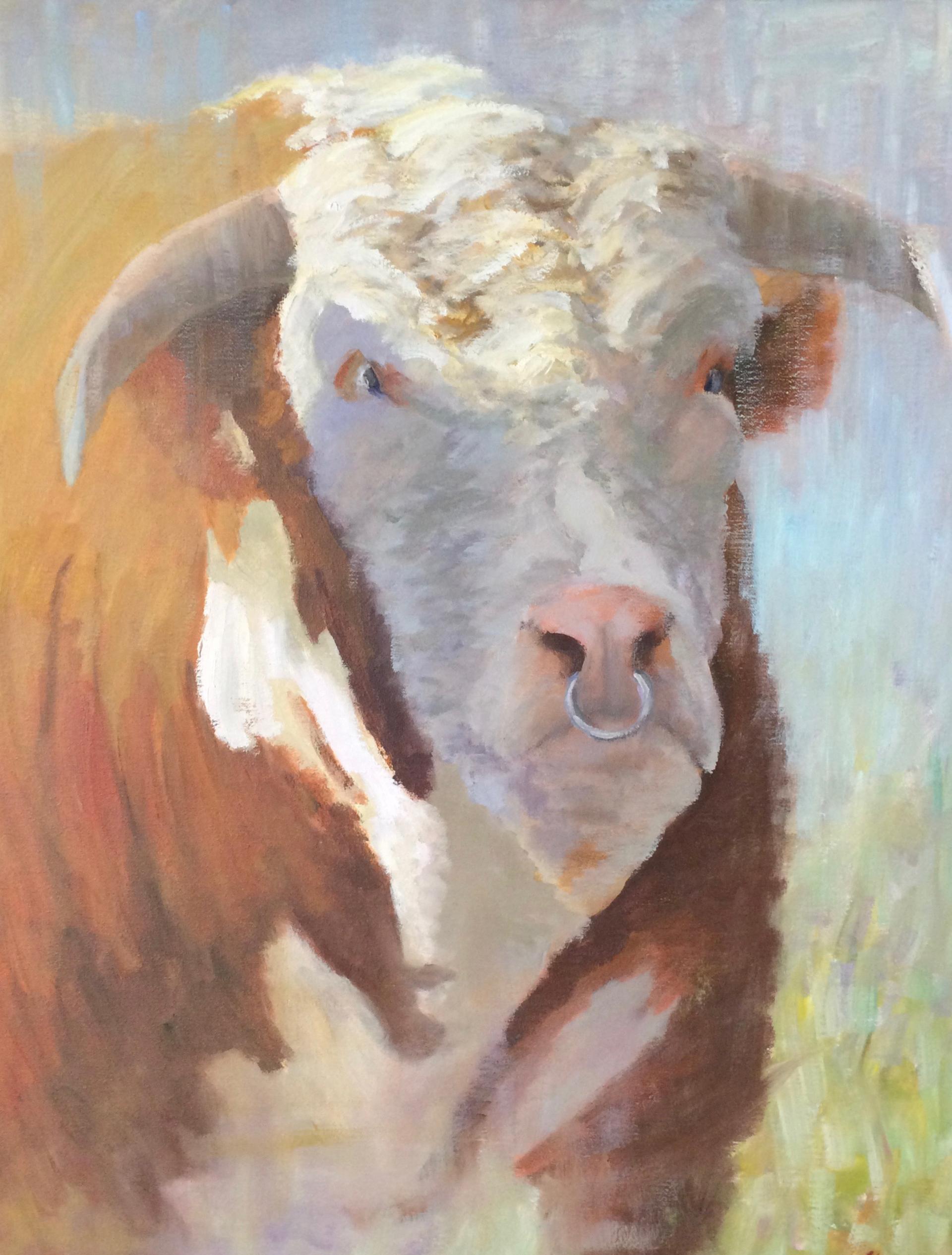 Bull Headed by Joe Mullican
