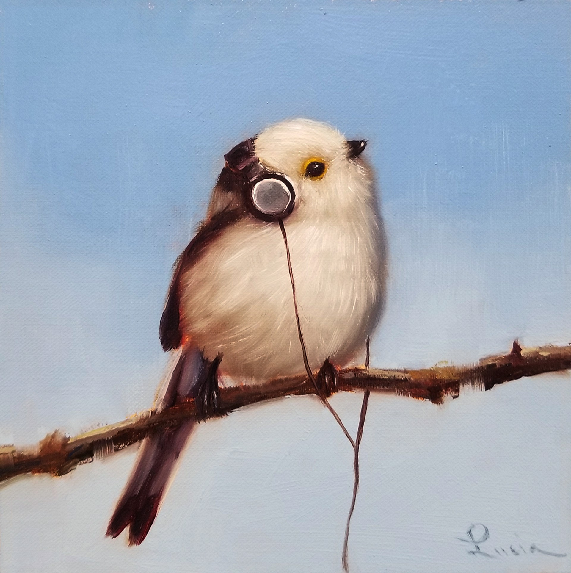 Songbird IV by Lucia Heffernan