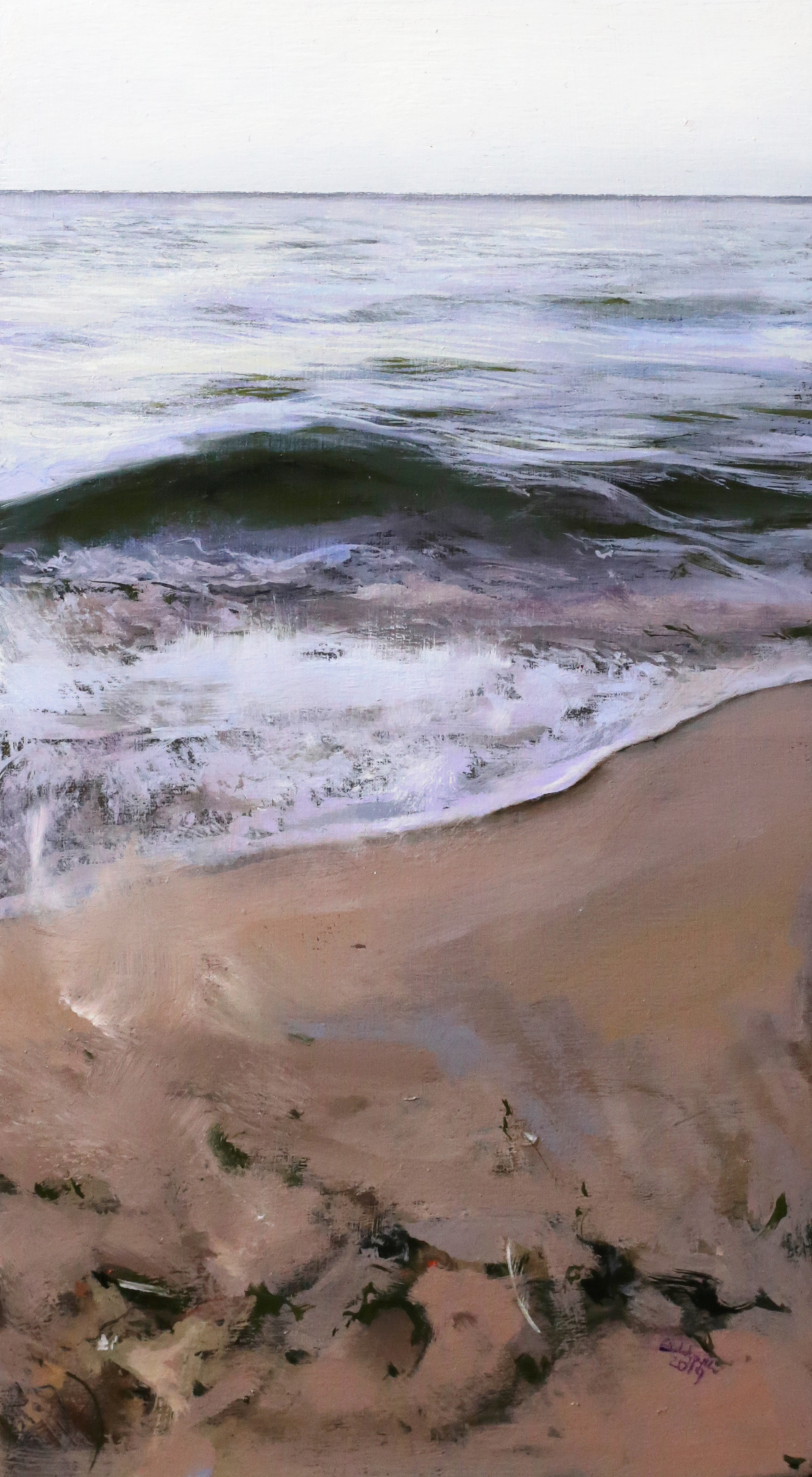 When the Sea and Seas Spirts Mix by Anna Wypych