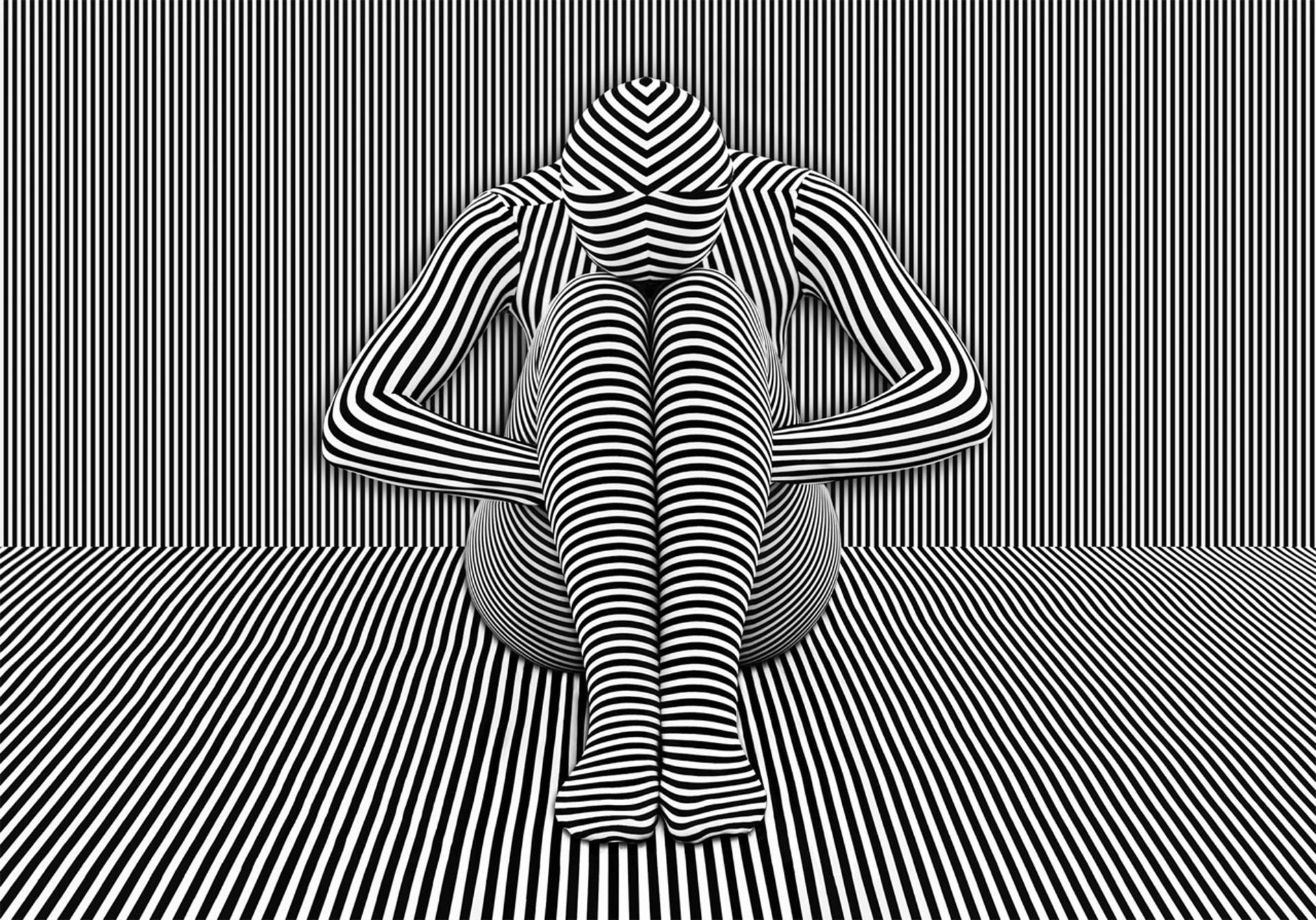 Stripe Study III by Parish Kohanim
