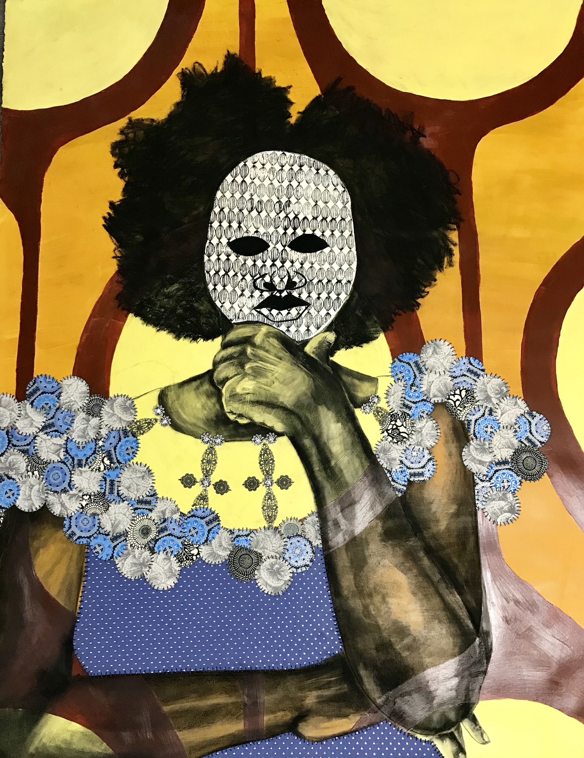 The Mask I Wear by Delita Martin