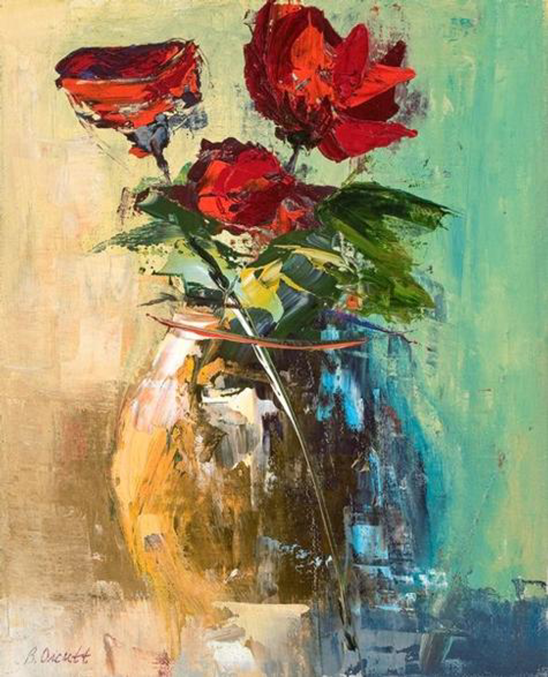 L,amour Rouge by Brenda Orcutt, Giclee--Prints