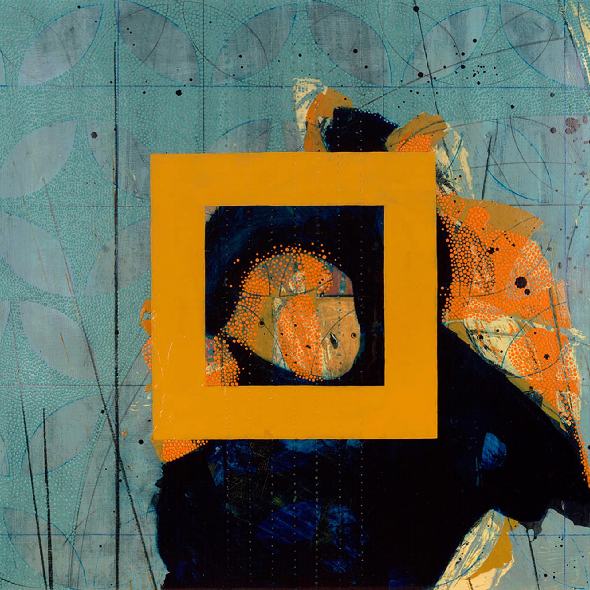 Quilt and Poppy 3 by Nina Tichava