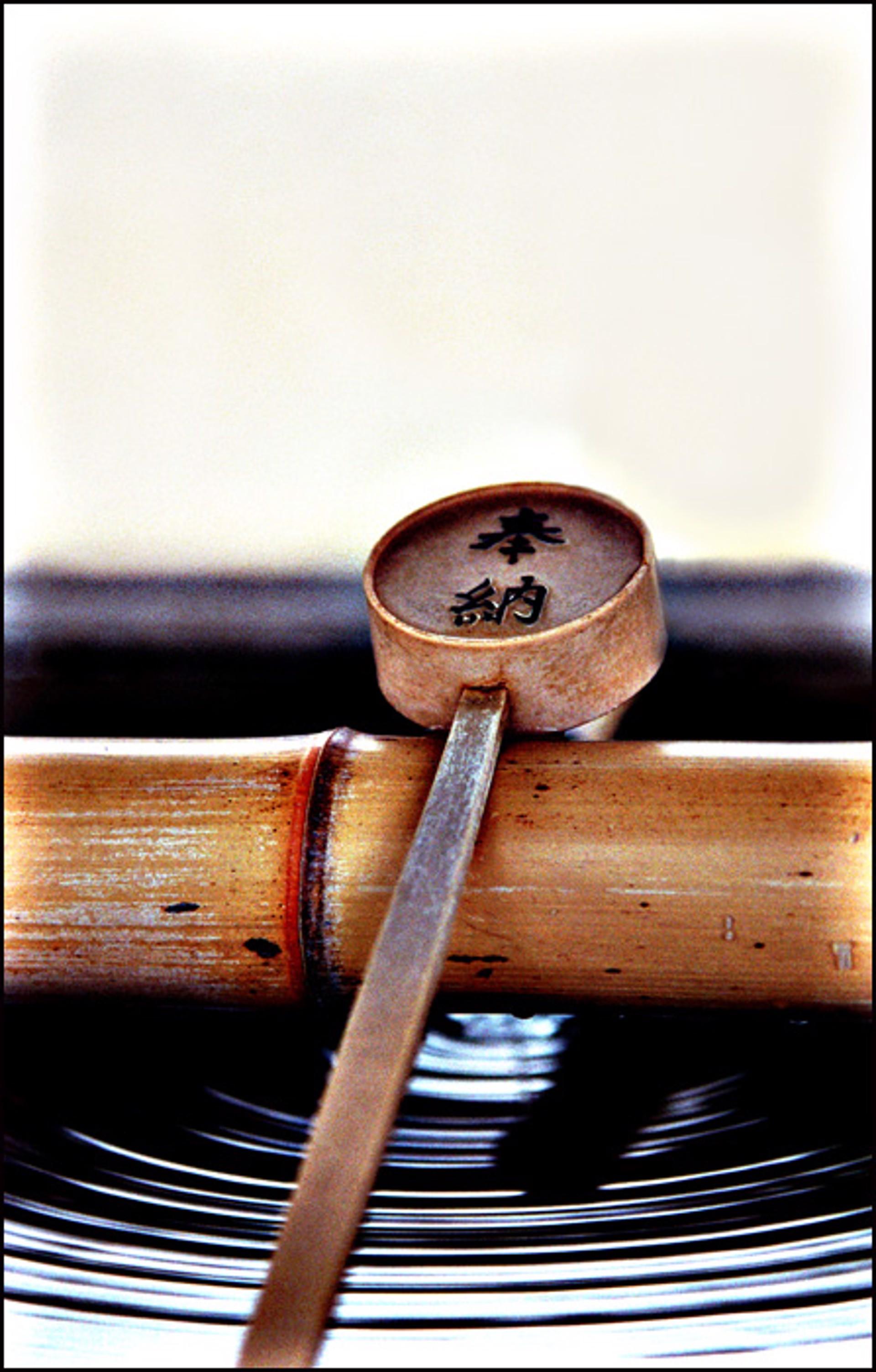 Bamboo Ladle for Purification by Oksana Perkins