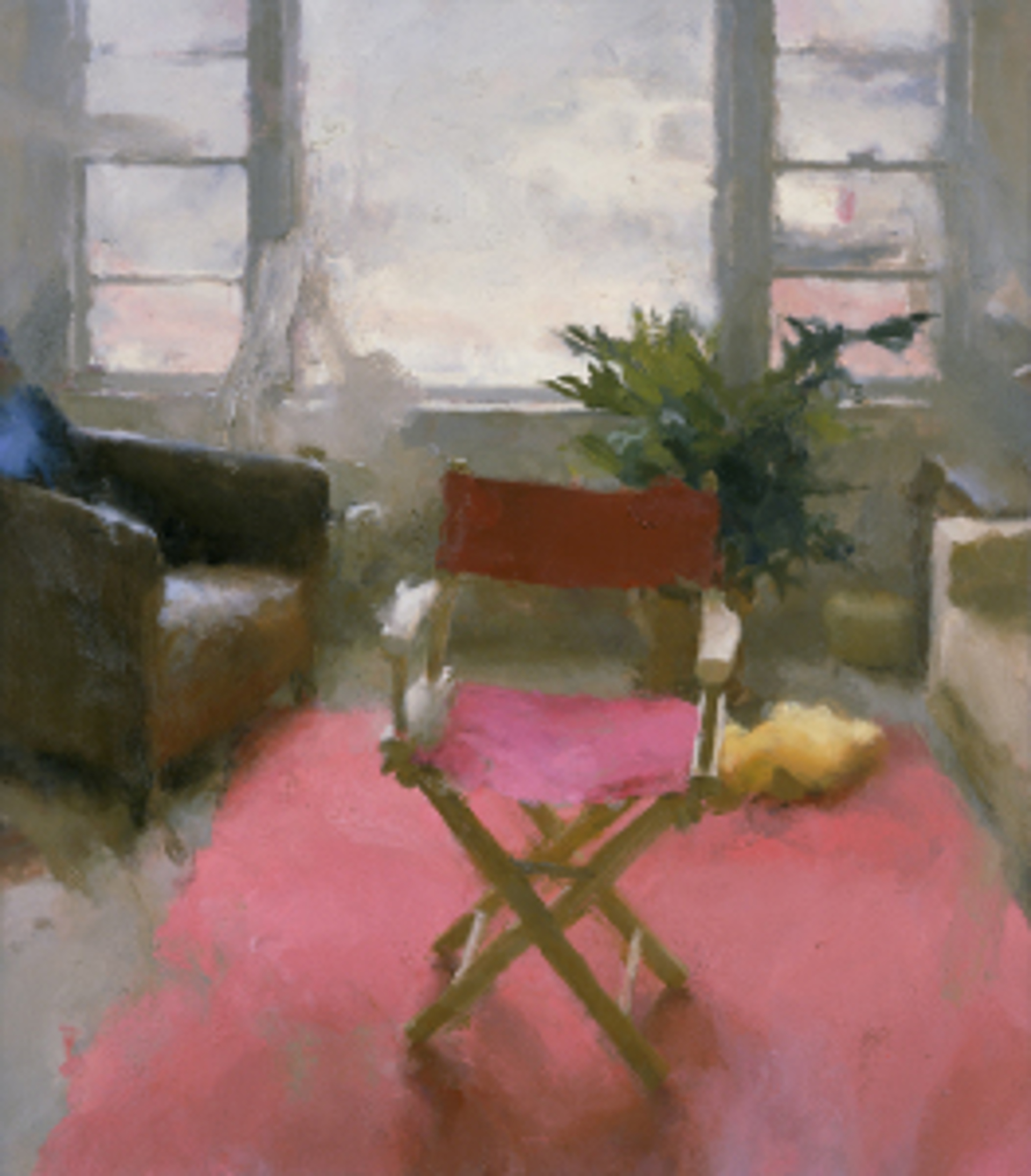 Interior with Red Carpet II by Jordan Wolfson
