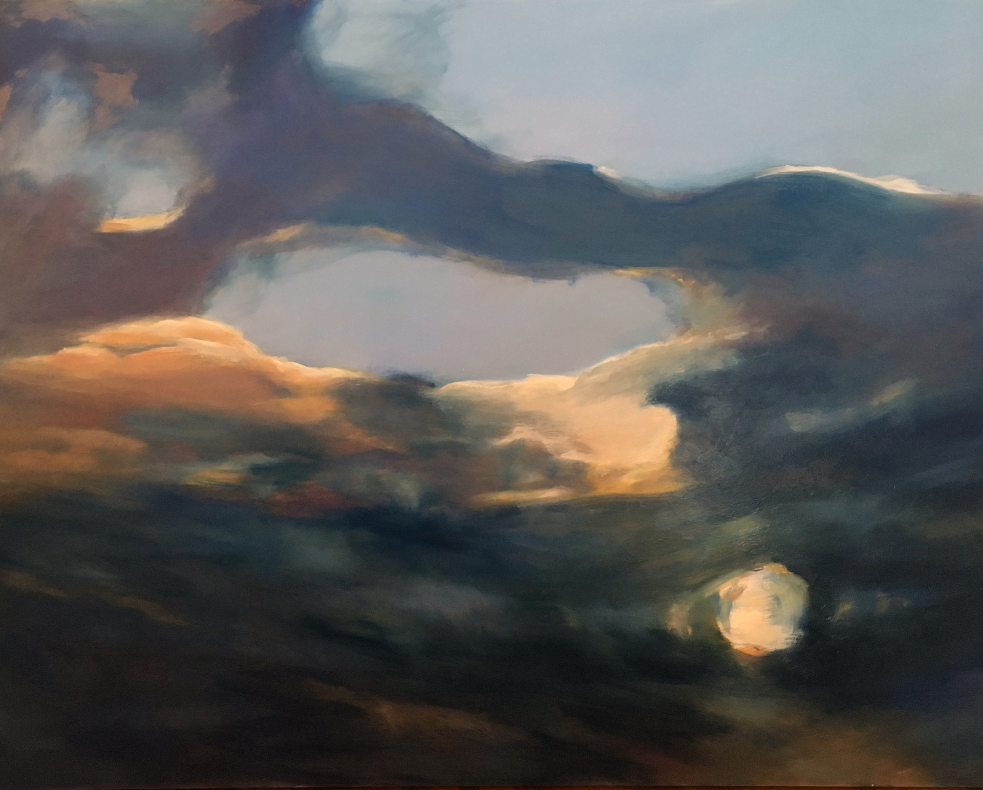 'Light Through the Clouds' by Sally Breen