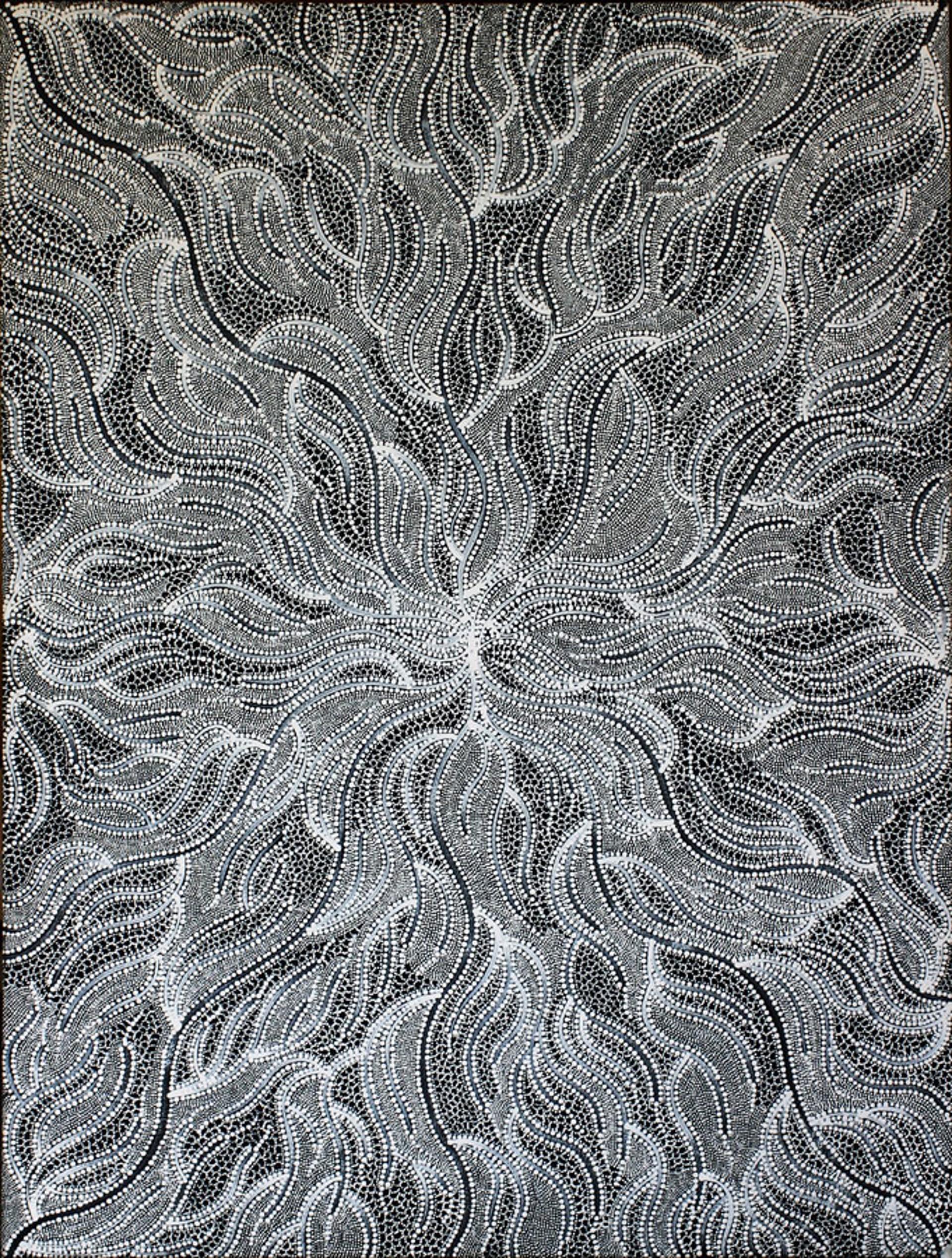Ngapa (Water Dreaming) by Australian Aboriginal Artists