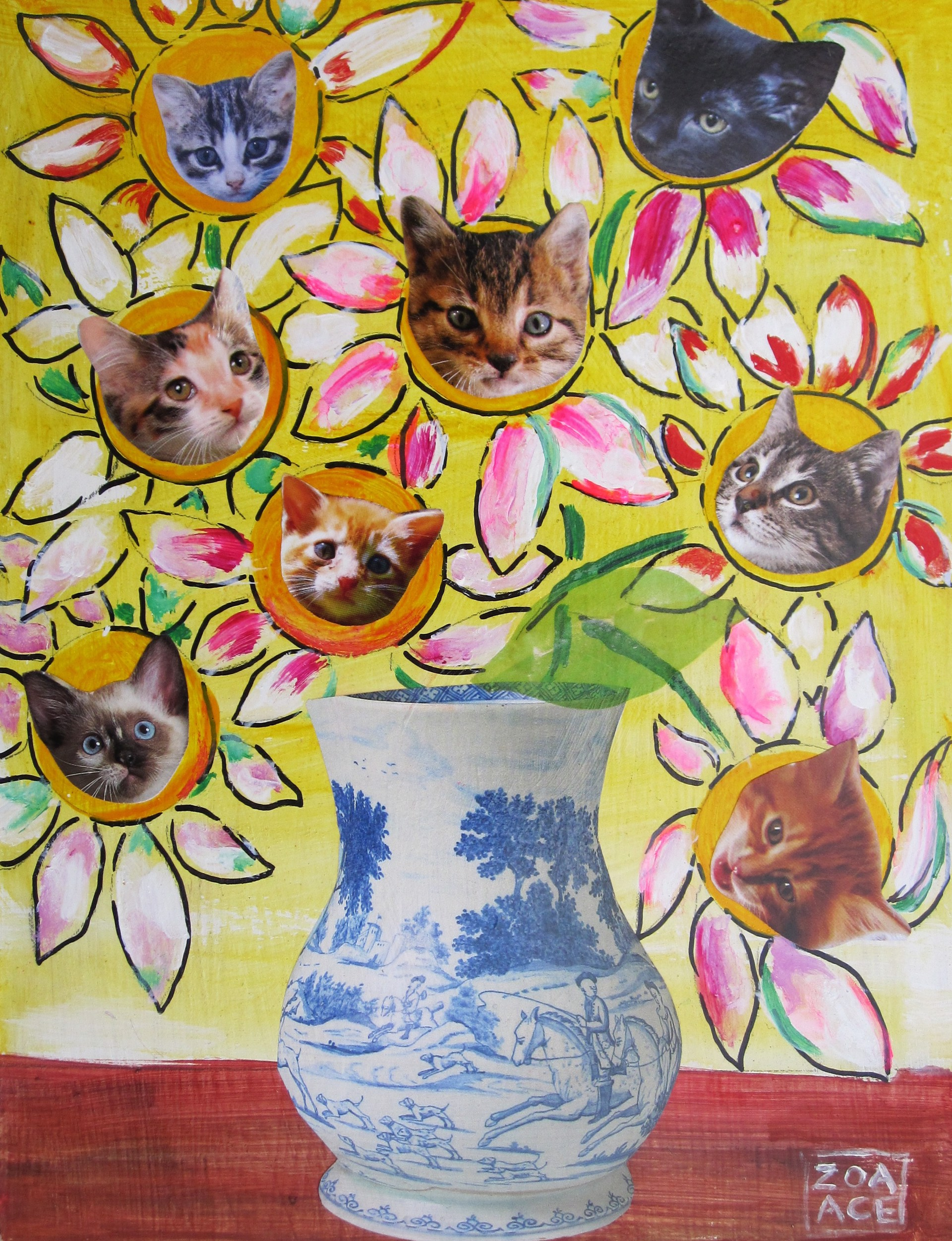 Bouquet of Kittens by Zoa Ace