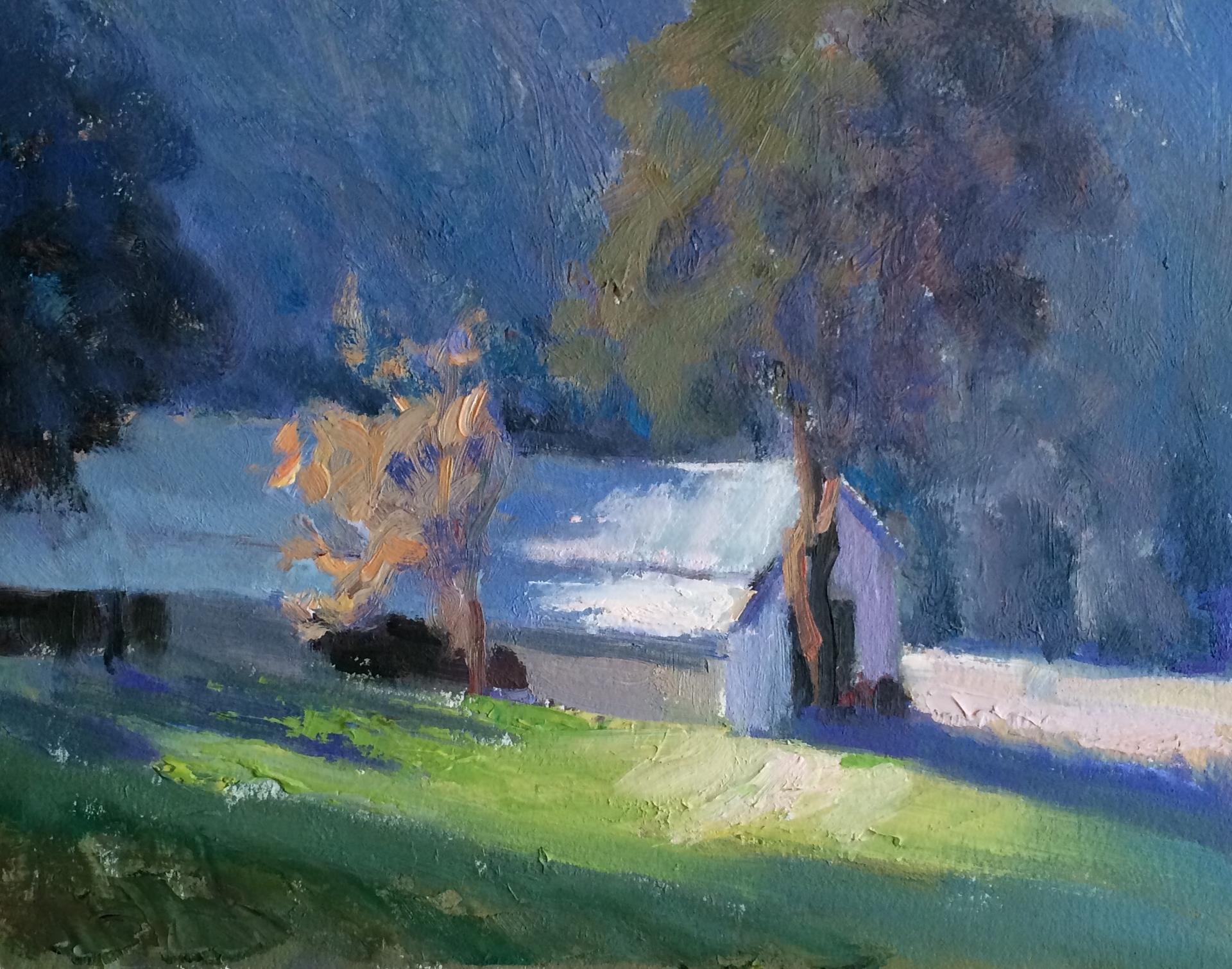 Horse Barn by Joe Mullican