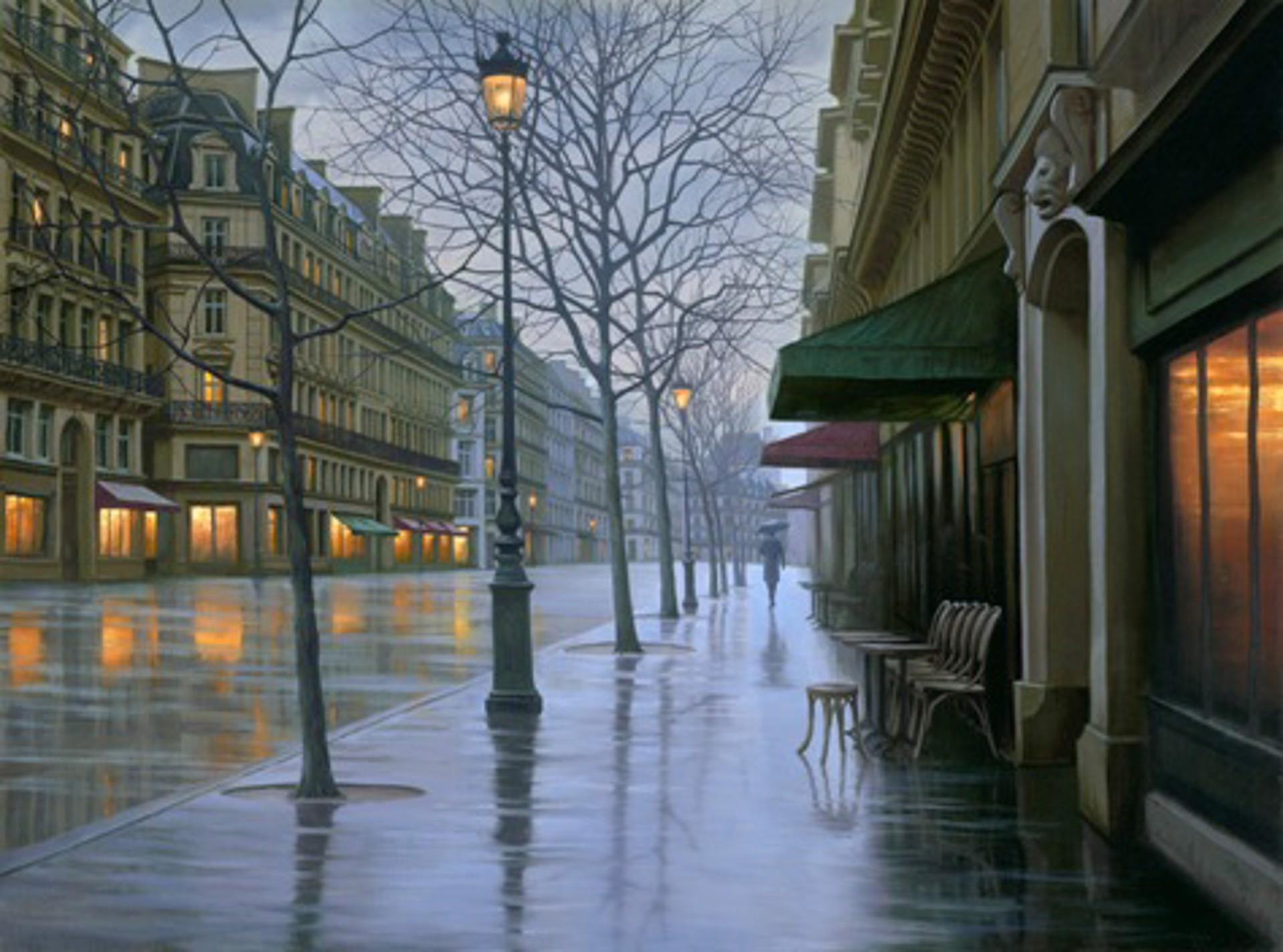 Rue de Louvre by Alexei Butirskiy
