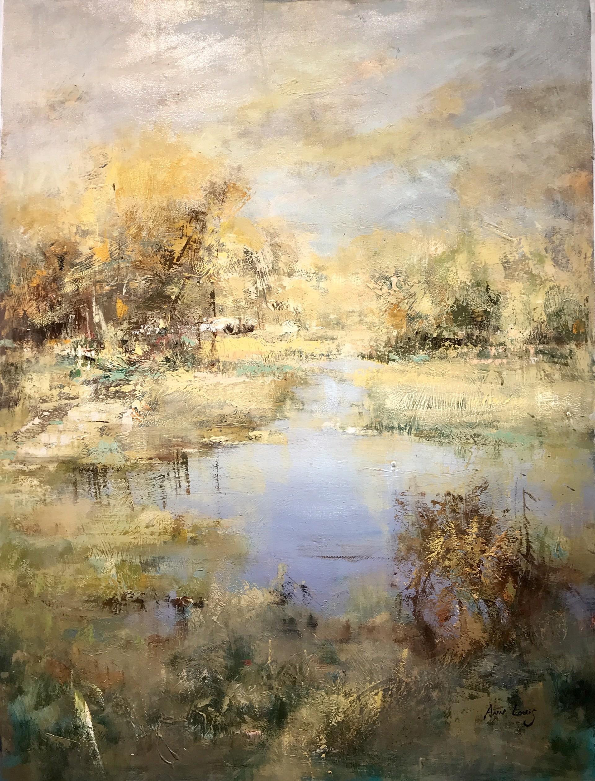 WATER SCENE  by A LOUIS
