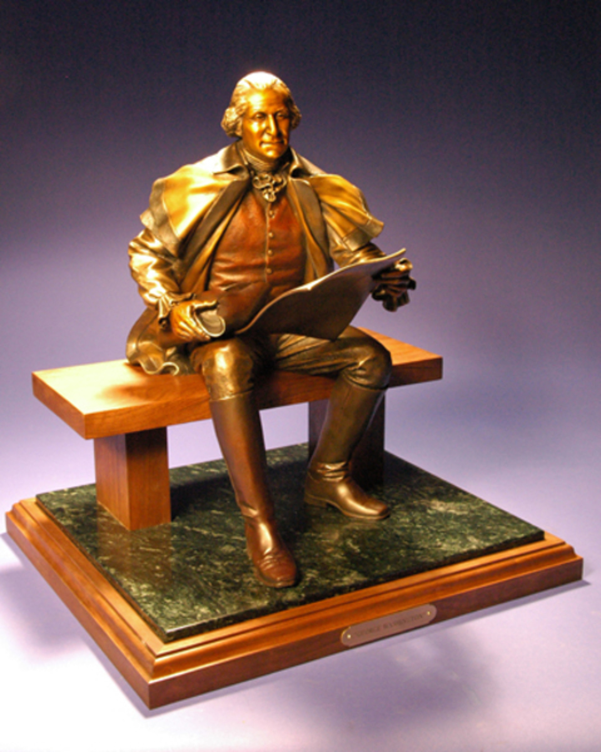 George Washington Maquette by George and Mark Lundeen